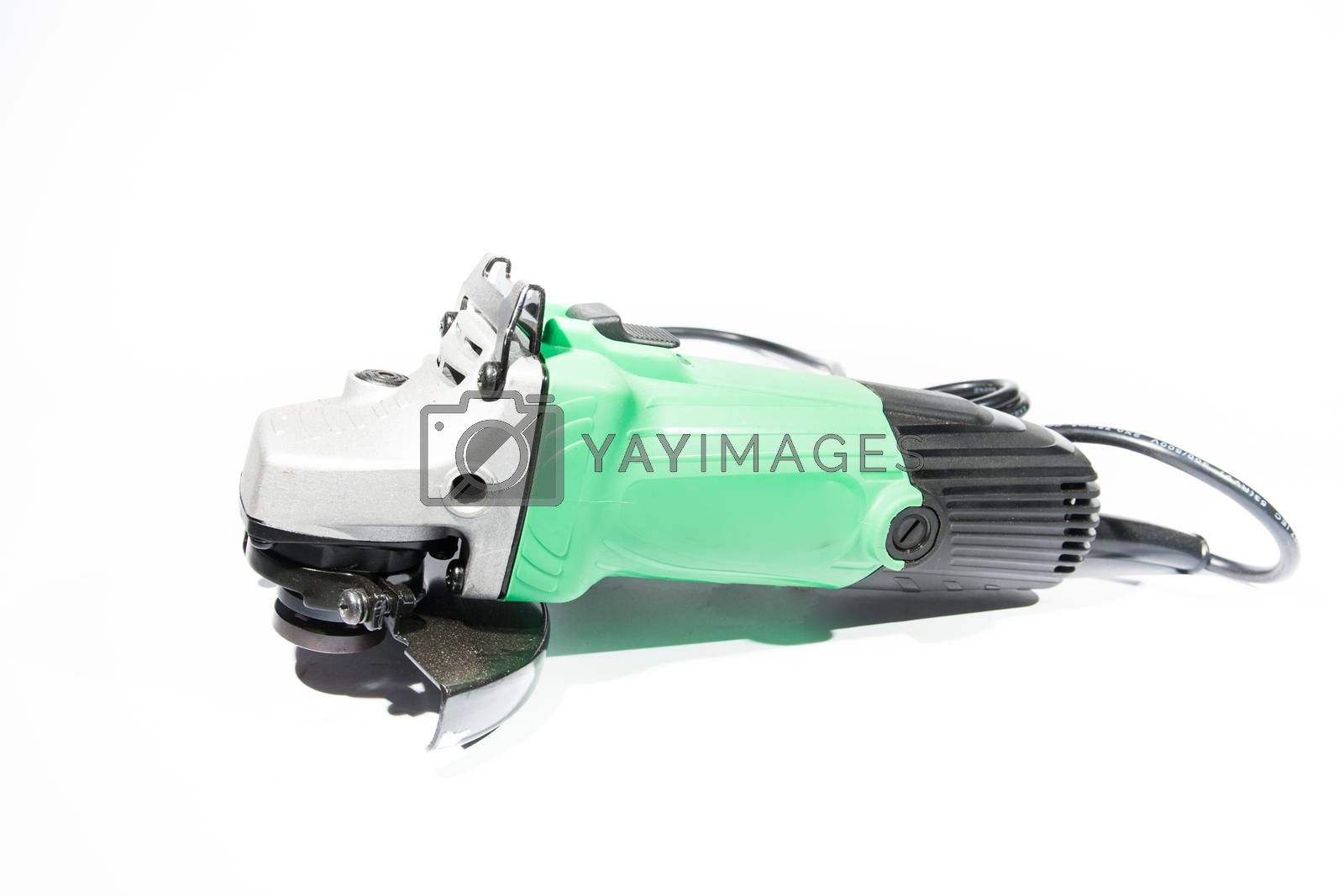 Royalty free image of Electric grinder by tuchkay