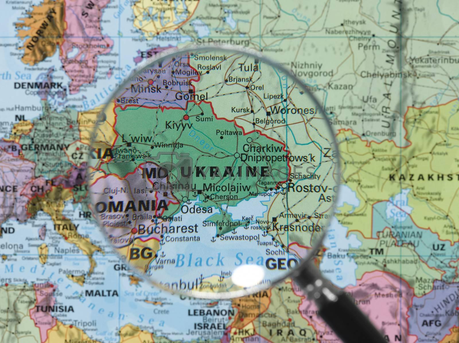 Royalty free image of Destination Ukraine by emirkoo