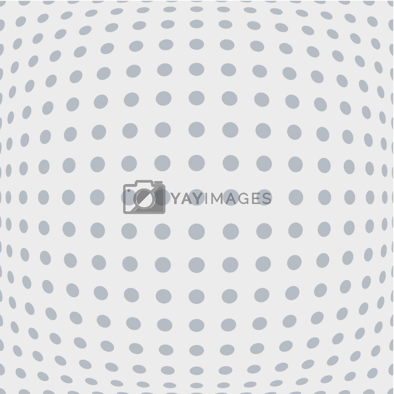 Royalty free image of Abstract perforated background by dvarg