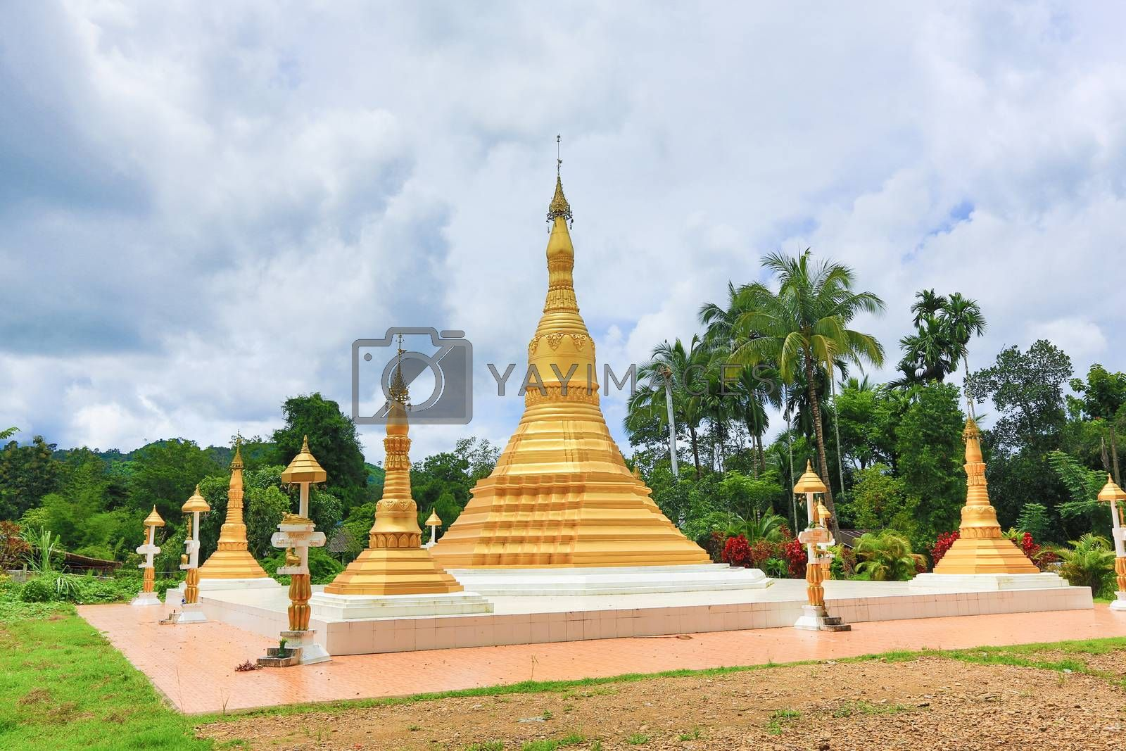 Royalty free image of Pagoda  by tuchkay