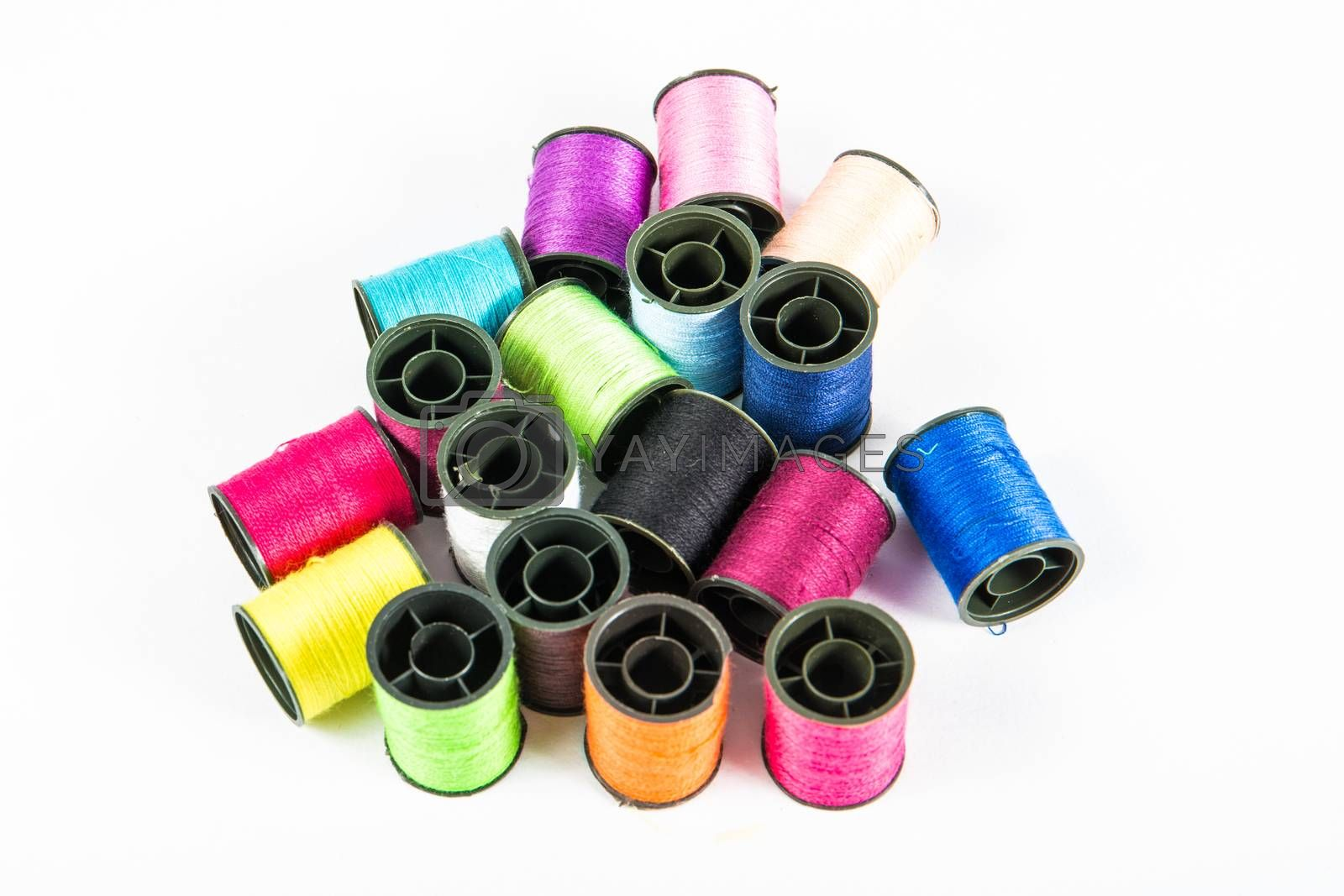 Royalty free image of sewing threads by tuchkay
