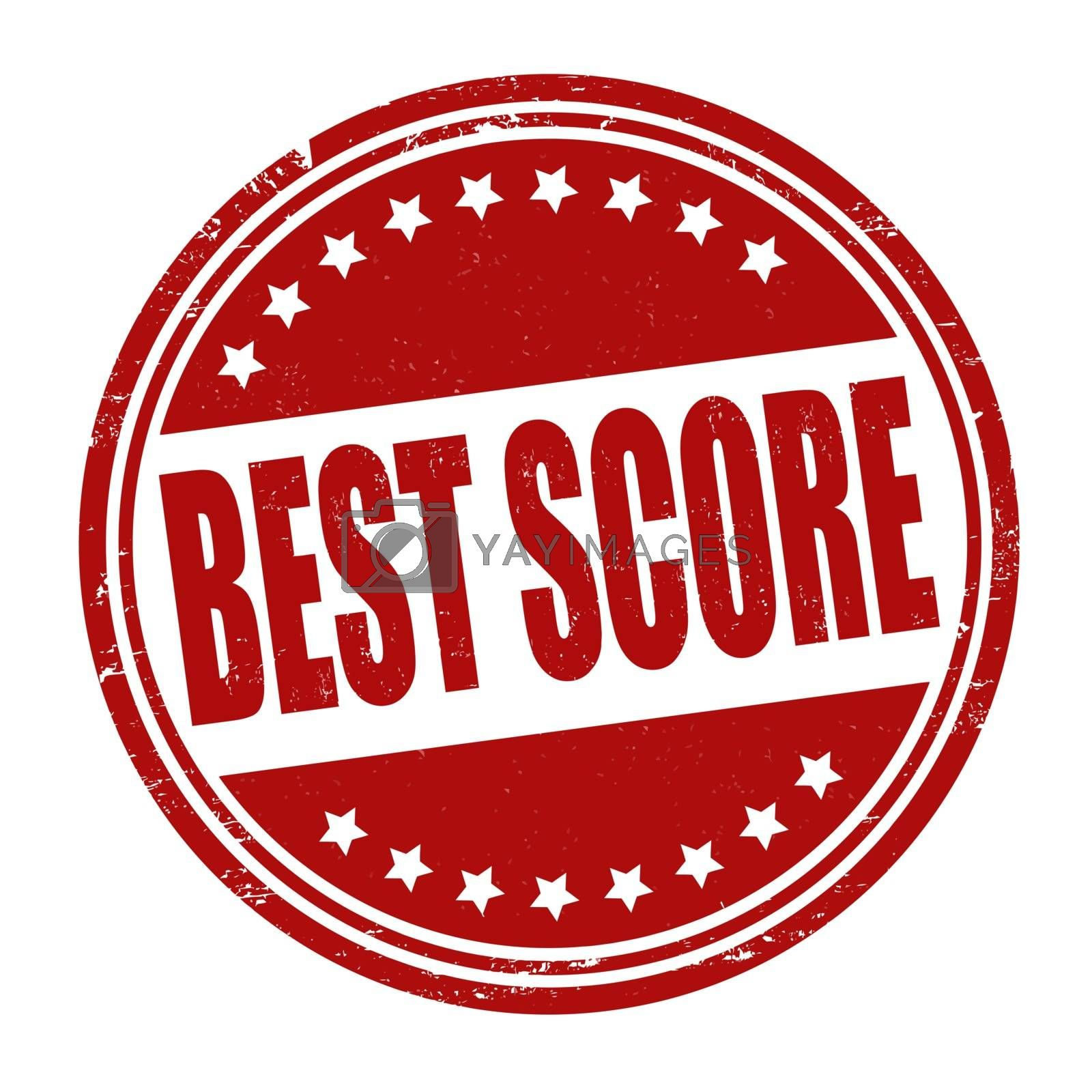 Best score stamp by roxanabalint