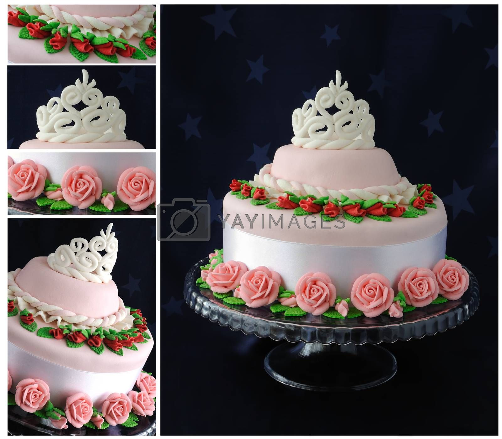 Royalty free image of Cake for the Princess by Apolonia