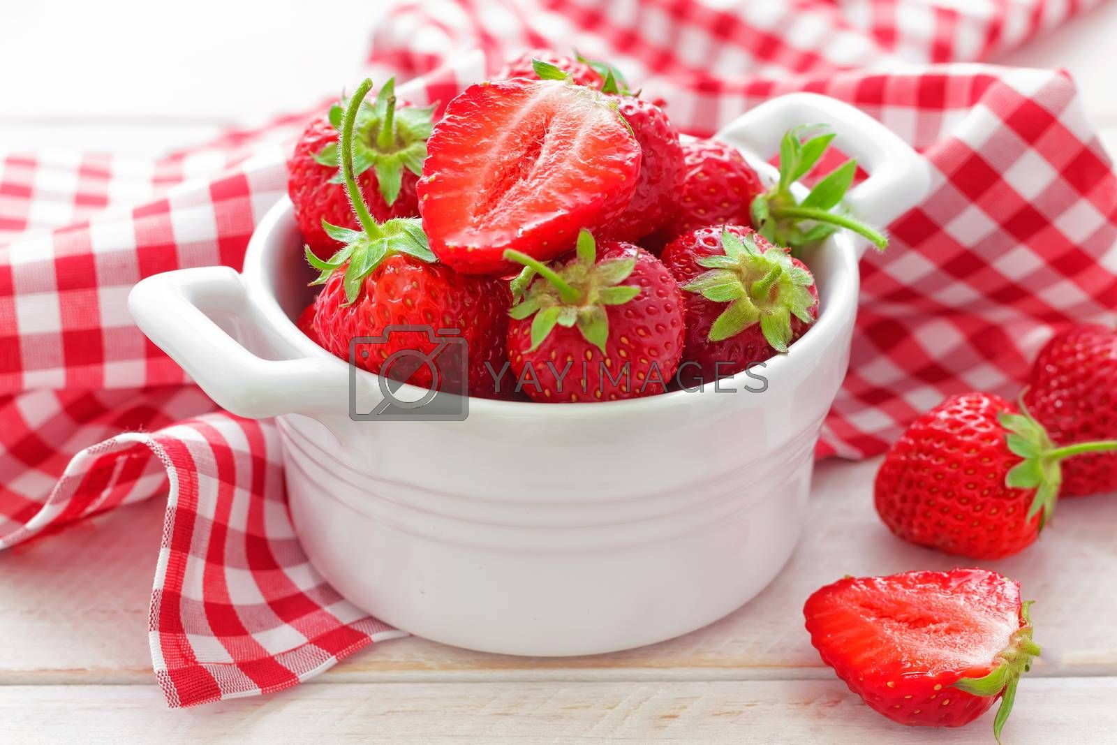 Royalty free image of Strawberry by yelenayemchuk