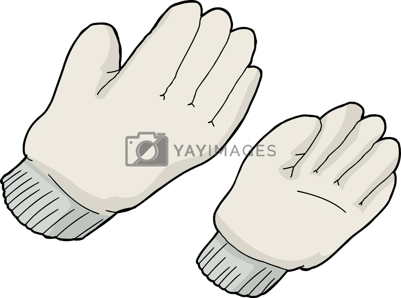 Royalty free image of Generic Work Gloves by TheBlackRhino