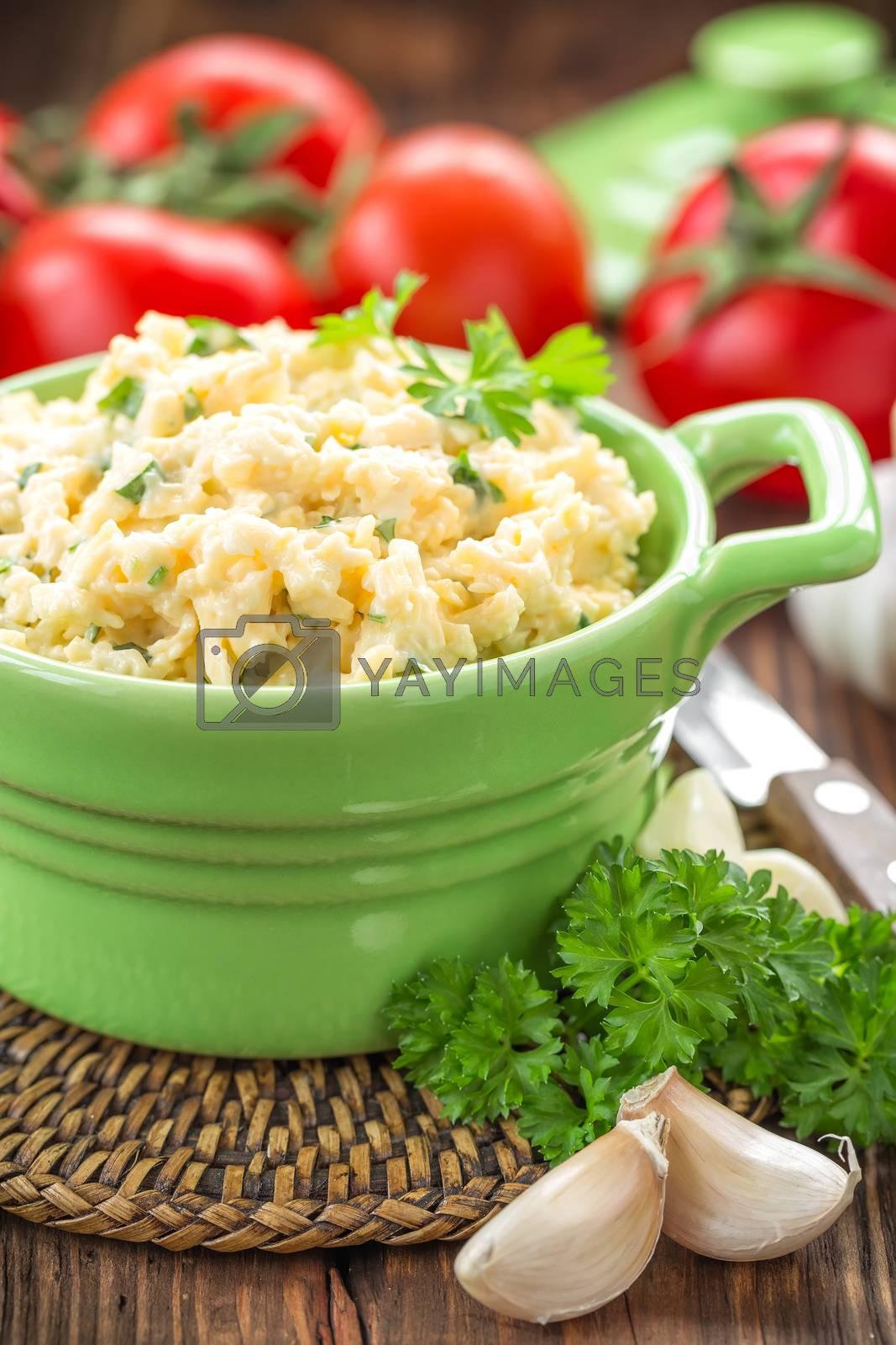 Cheese salad by yelenayemchuk