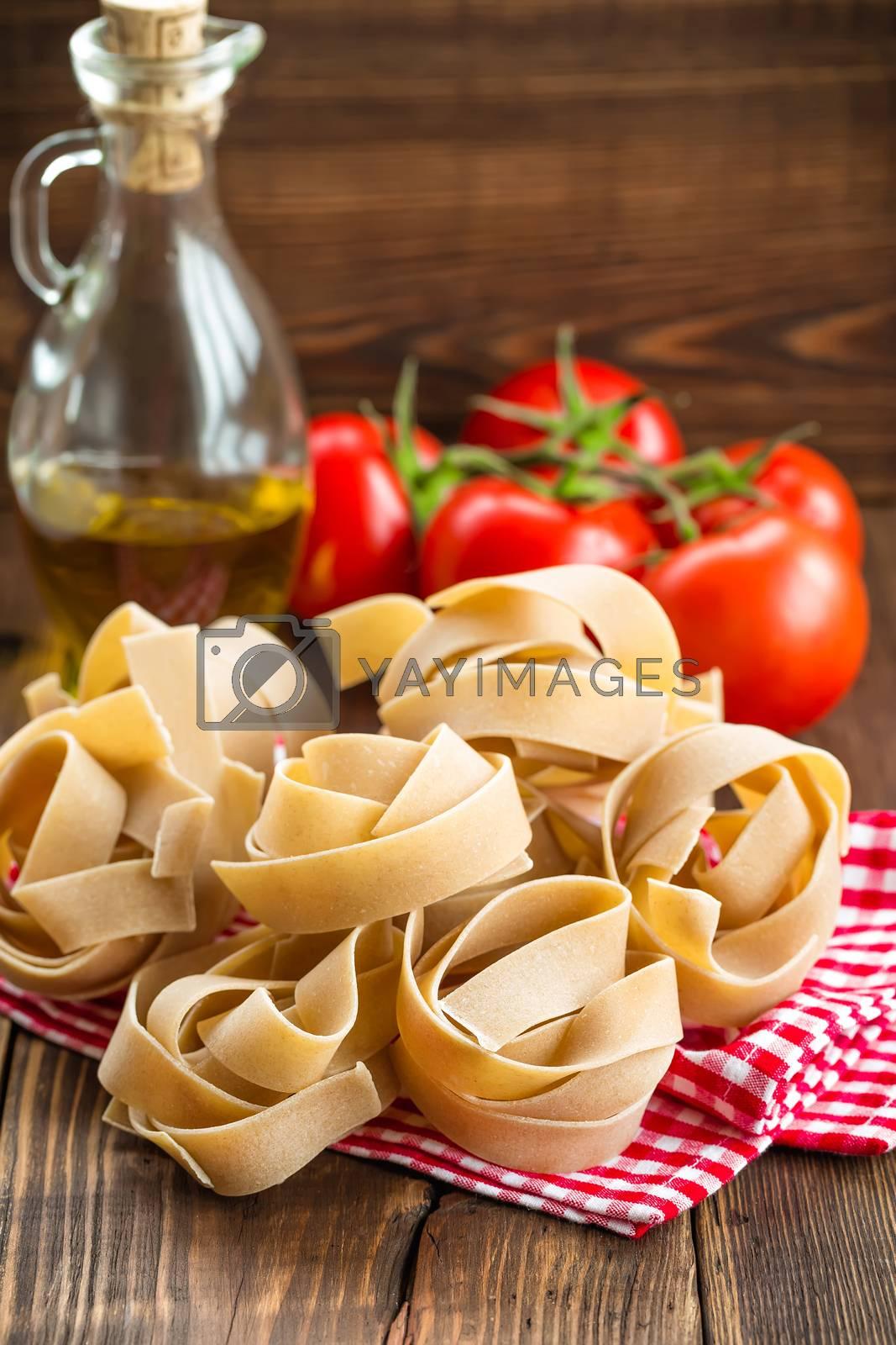 Royalty free image of Pasta by yelenayemchuk