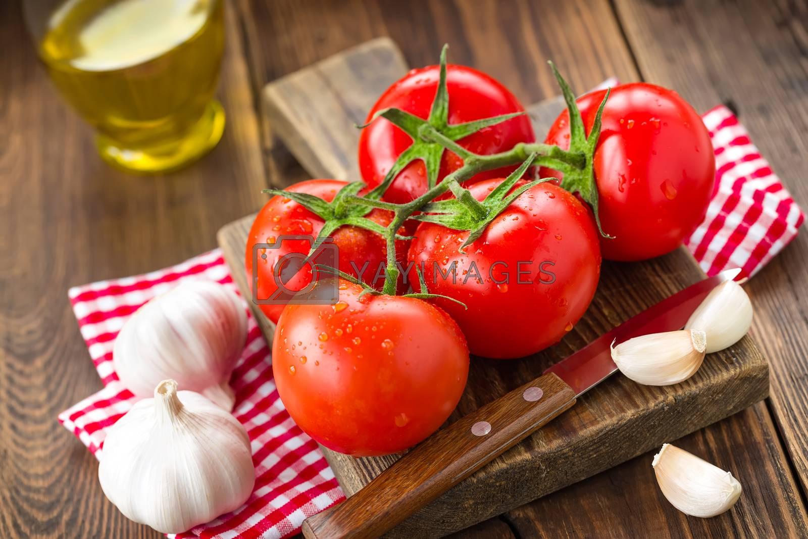 Royalty free image of Tomatoes by yelenayemchuk