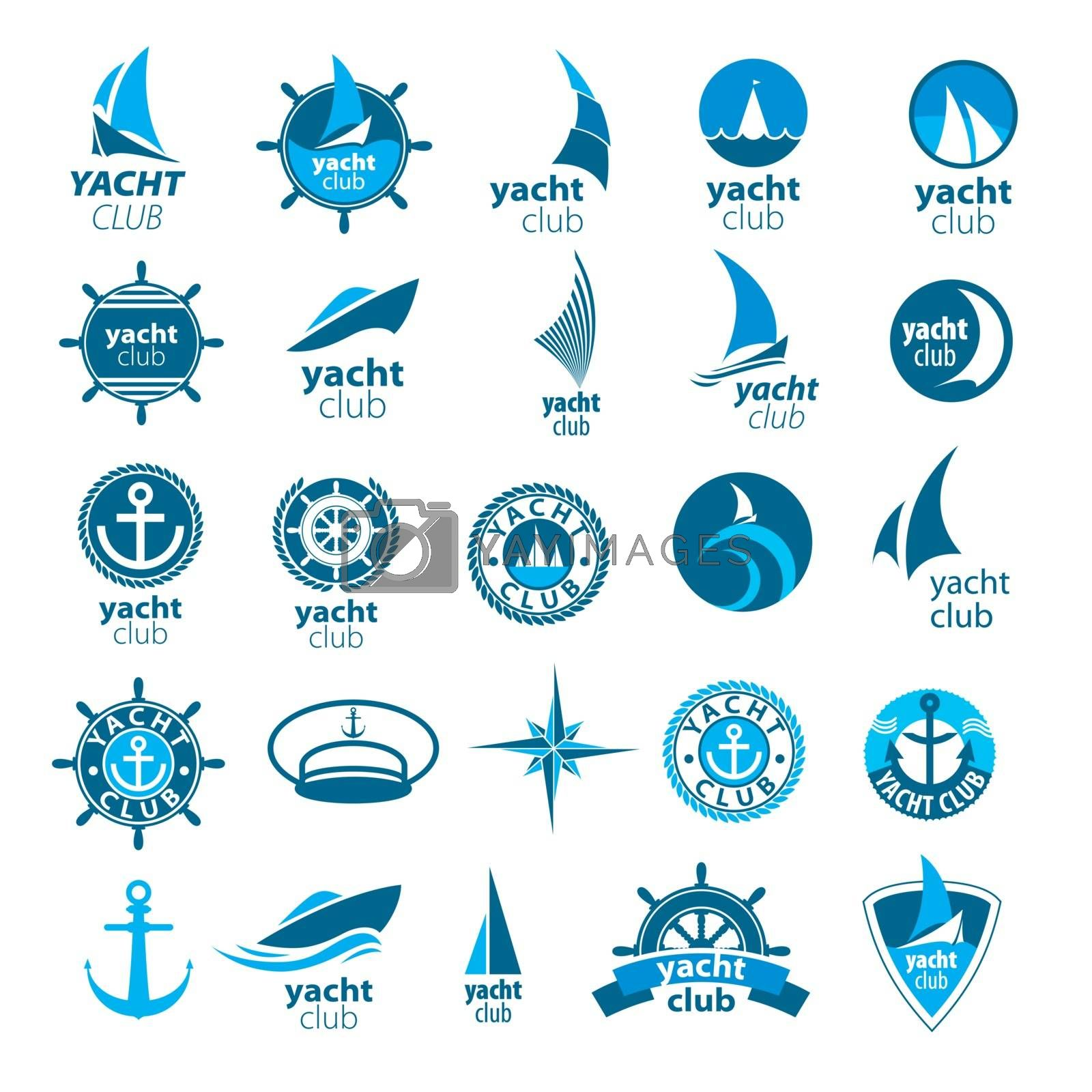 biggest collection of vector logos marina by Butenkov