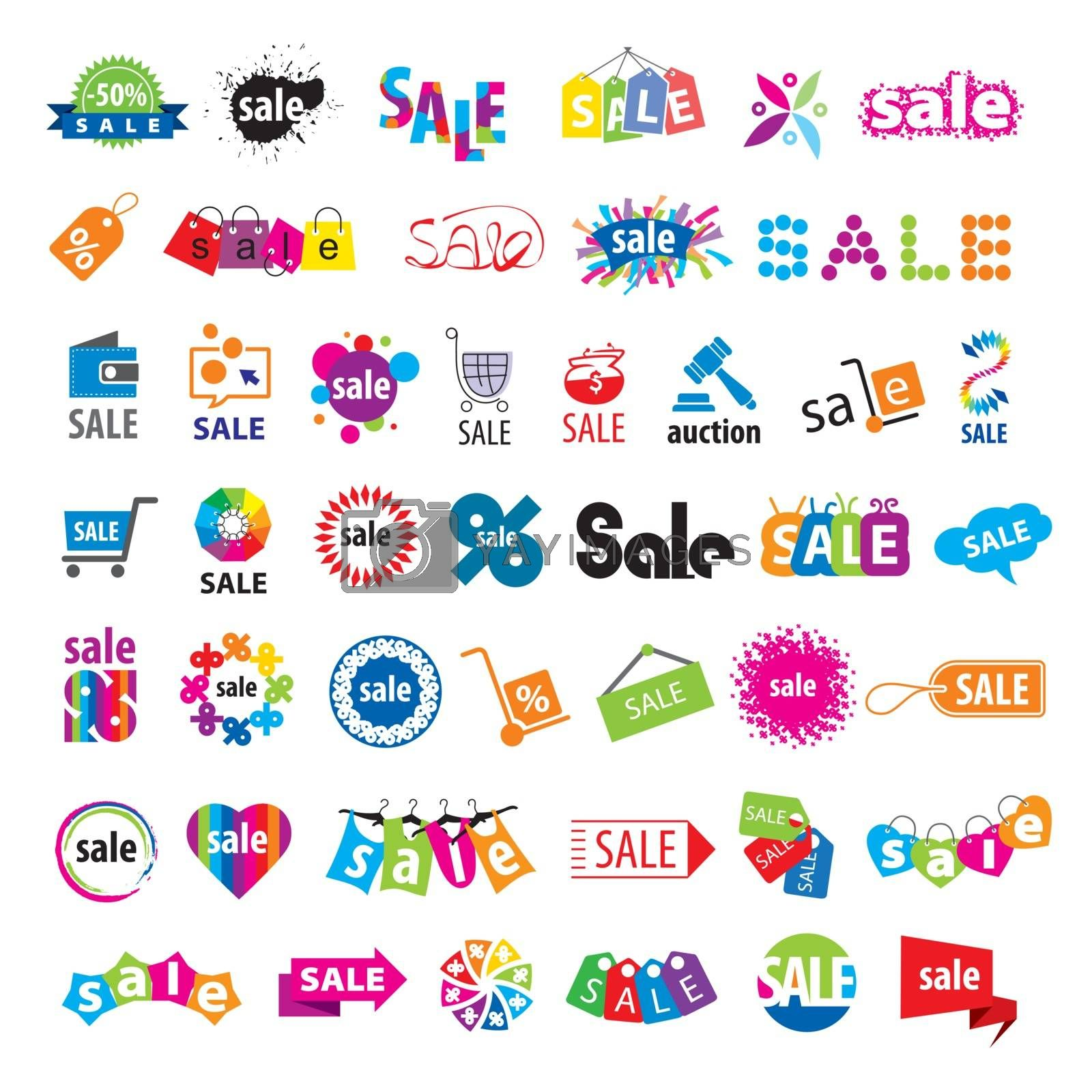 biggest collection of vector logos sale  by Butenkov