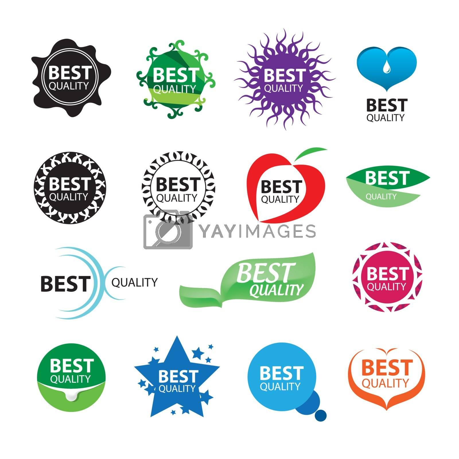 collection of vector icons for packages of best quality