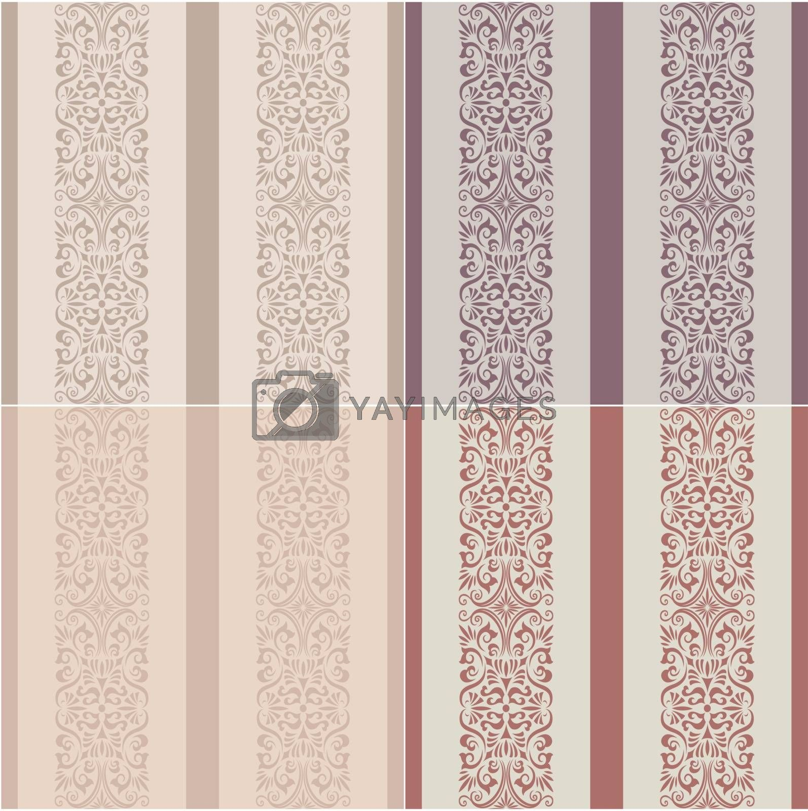 seamless stripes western wallpaper