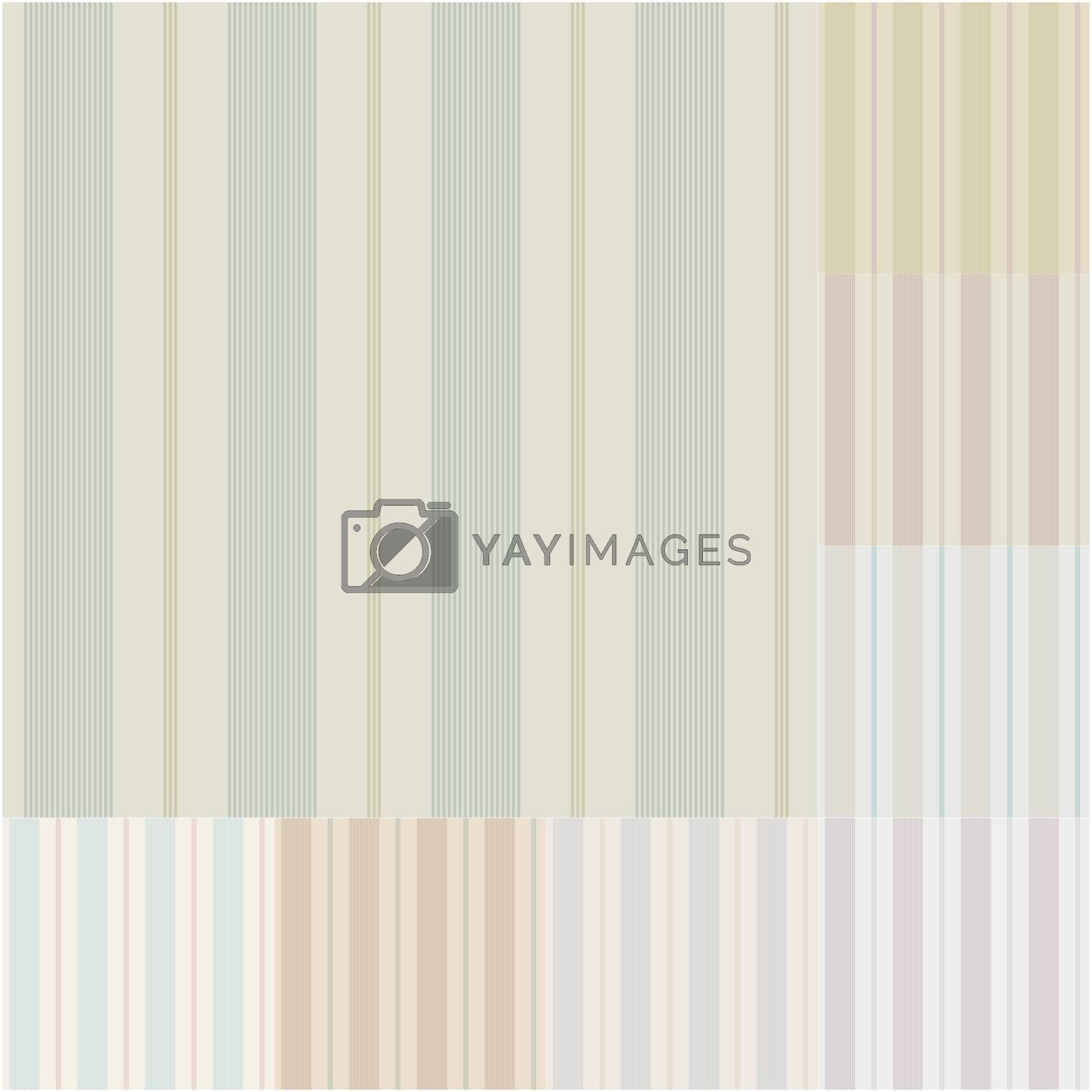 seamless vertical stripes pattern