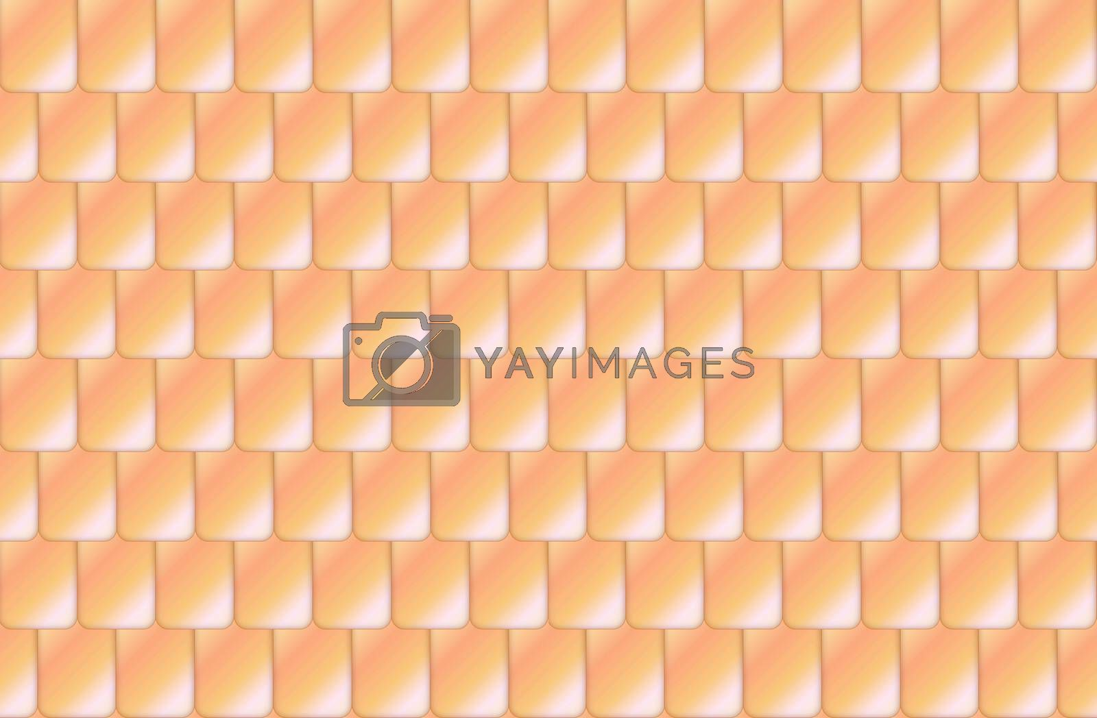 Seamless straw color roof tiles by Elenaphotos21