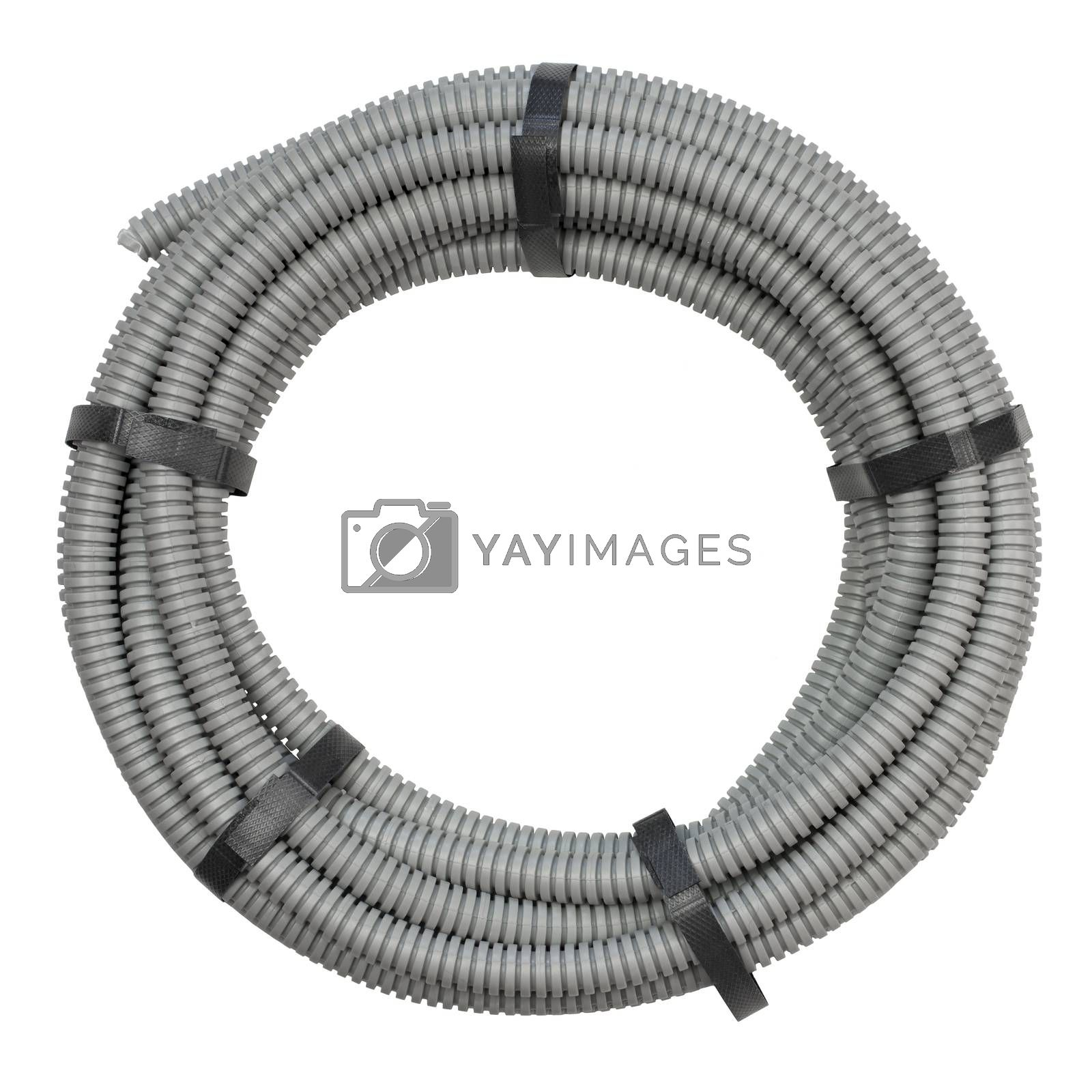 Flexible hose for installation of electrical cable by cherezoff