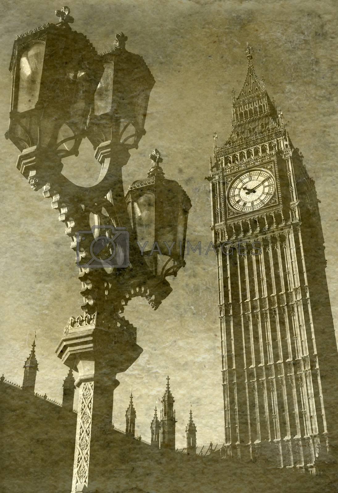 Looking up at Big Ben by chrisdorney