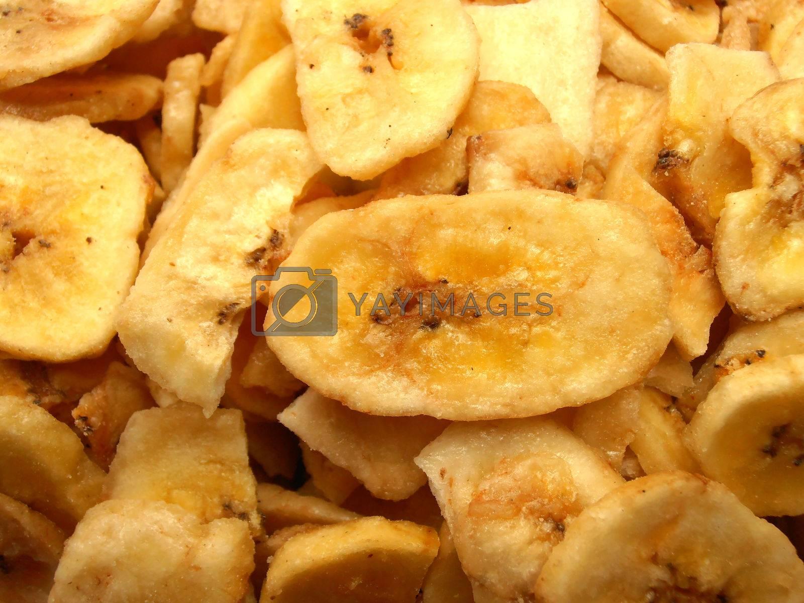 Dried bananas by Helena16
