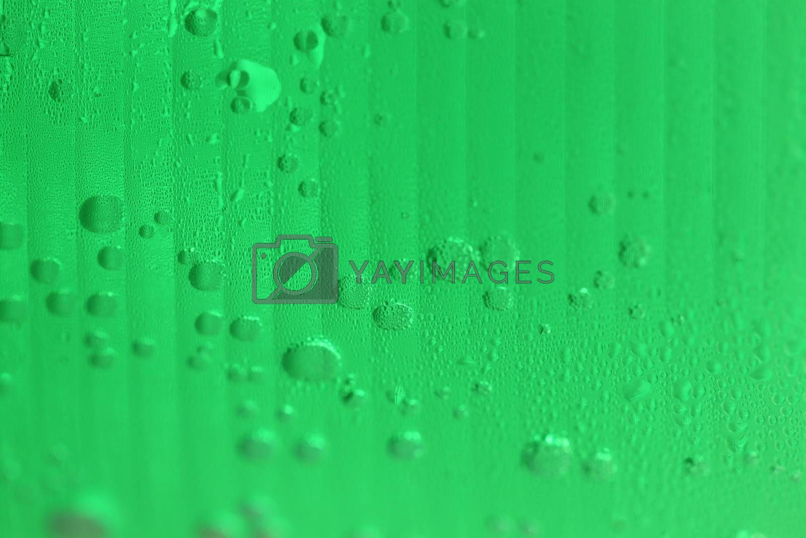 green of beverages in plastic glass for abstract background. by meepoohyaphoto