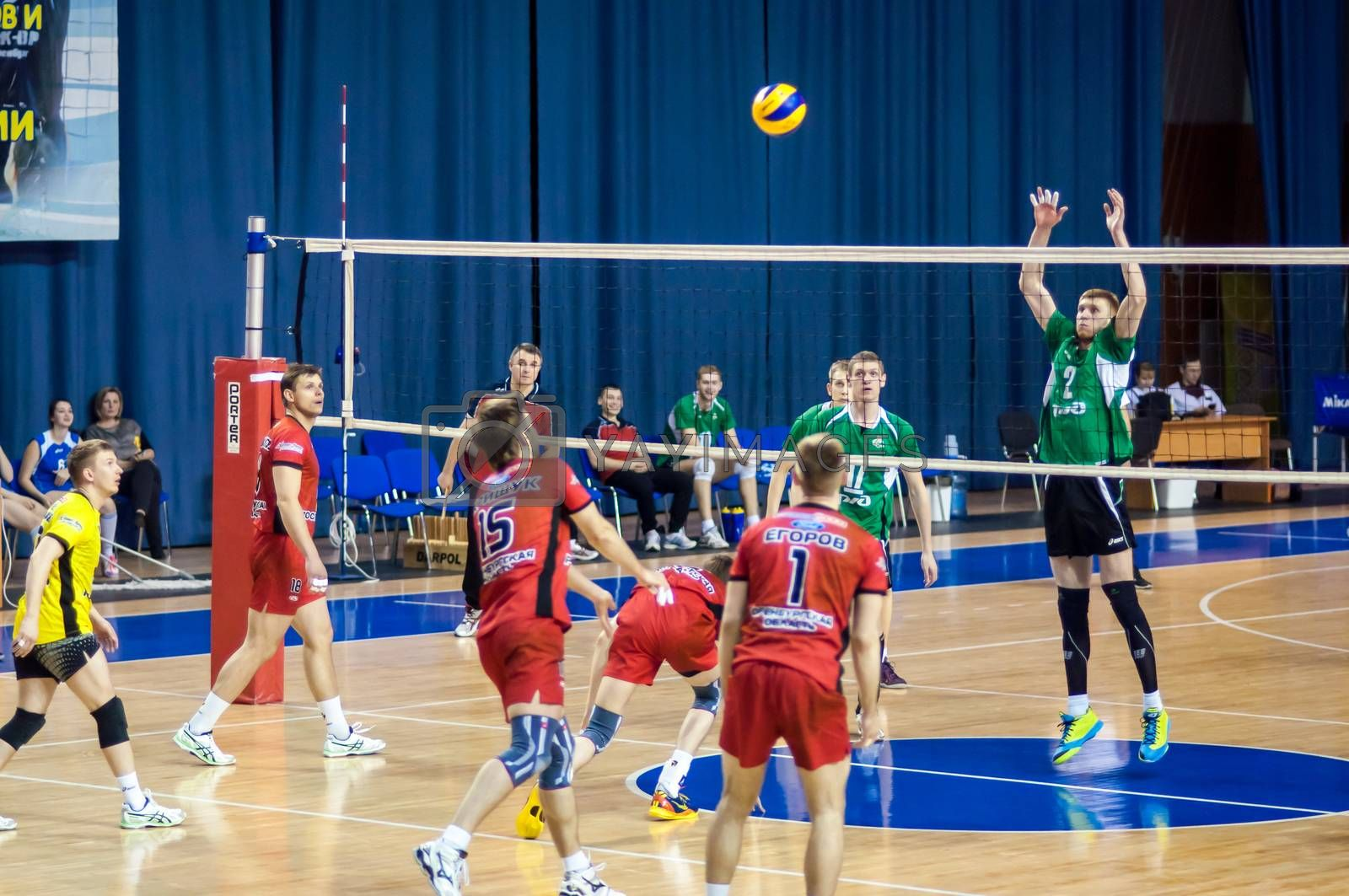 Competition to Volleyball. by 0608195706081957