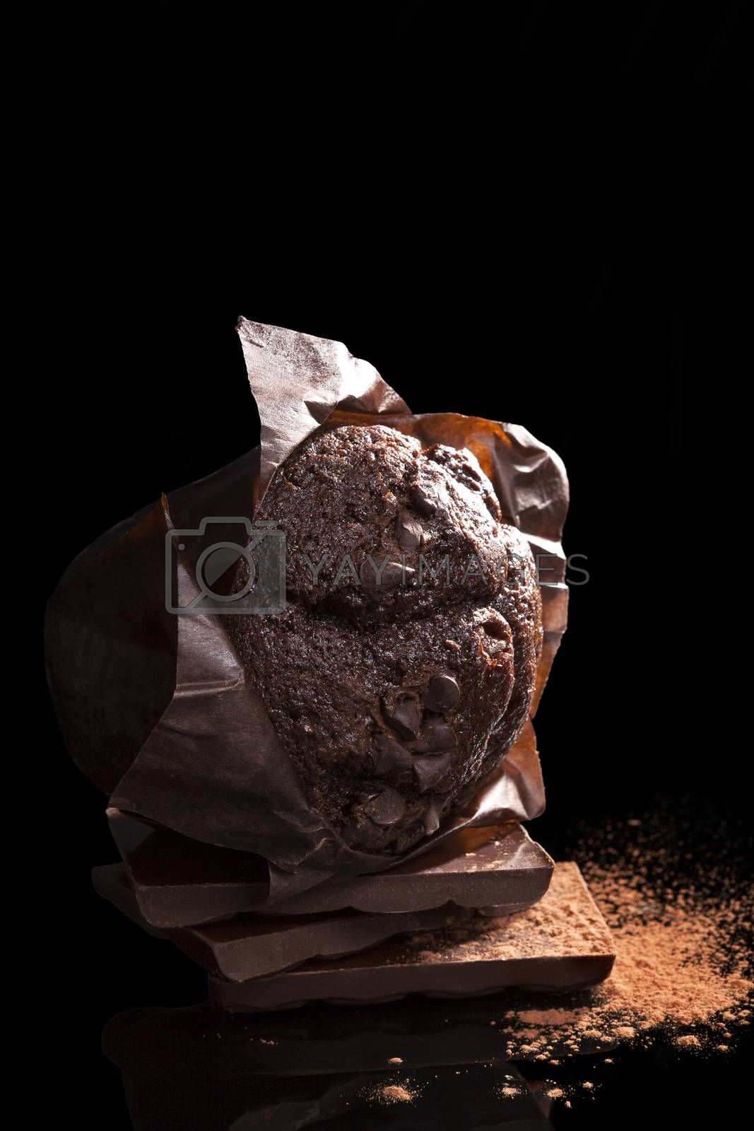 Chocolate muffin. by eskymaks