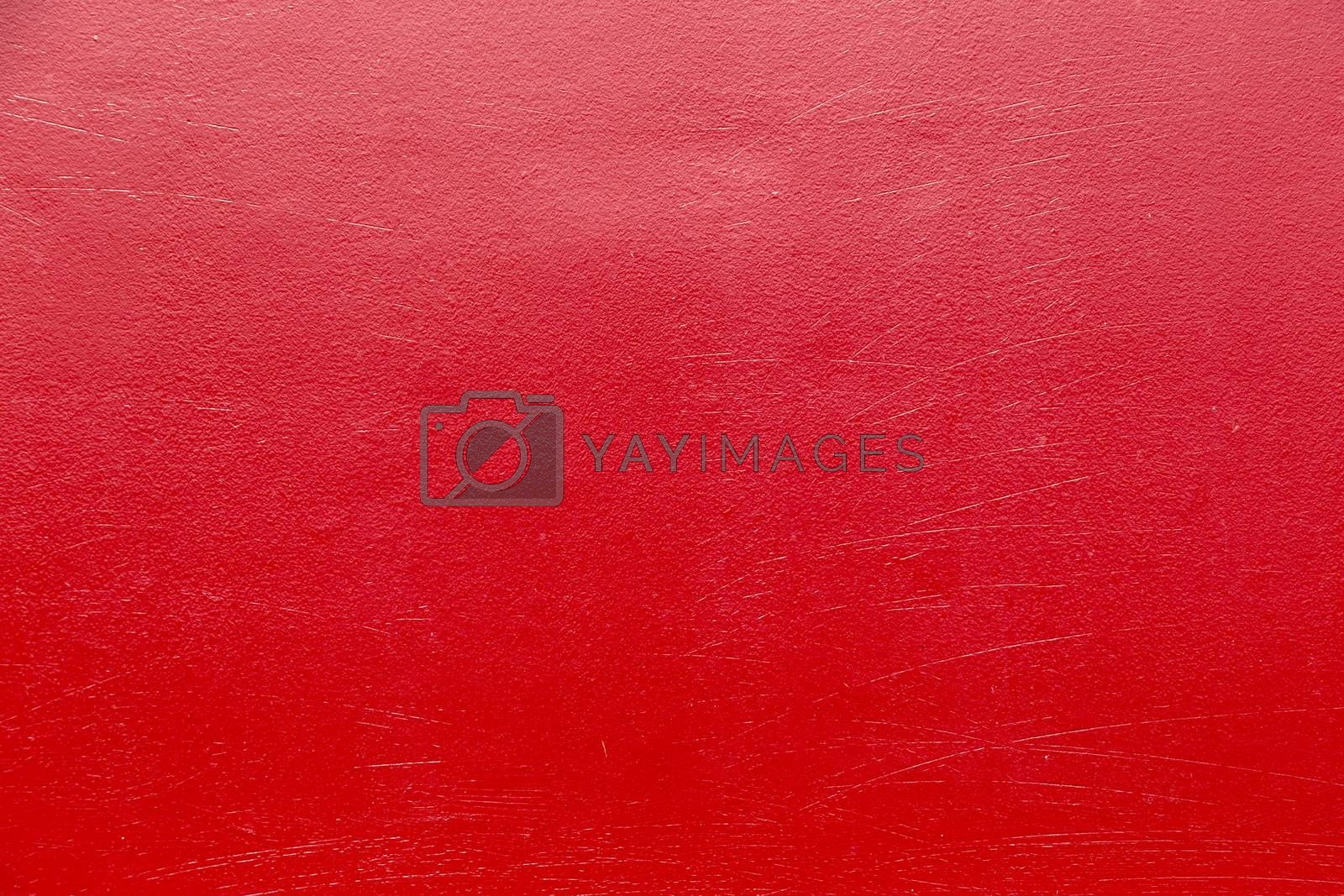 metal background painted in red by meinzahn