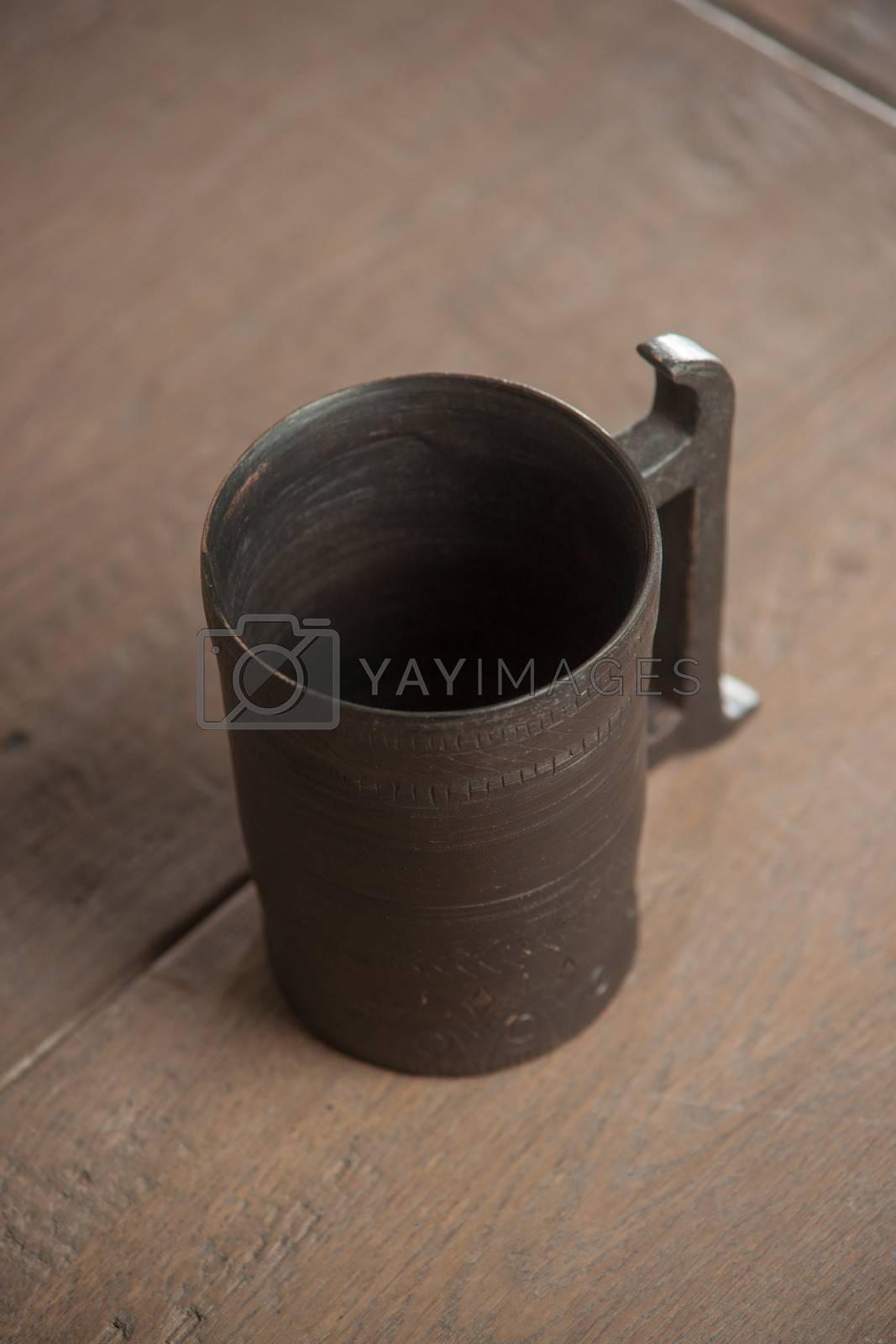 Traditional handcrafted mug by kozak