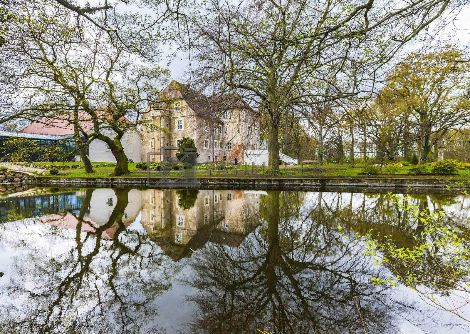 Castle Mellenthin on the island Usedom (Germany).  by Jorg Hackemann