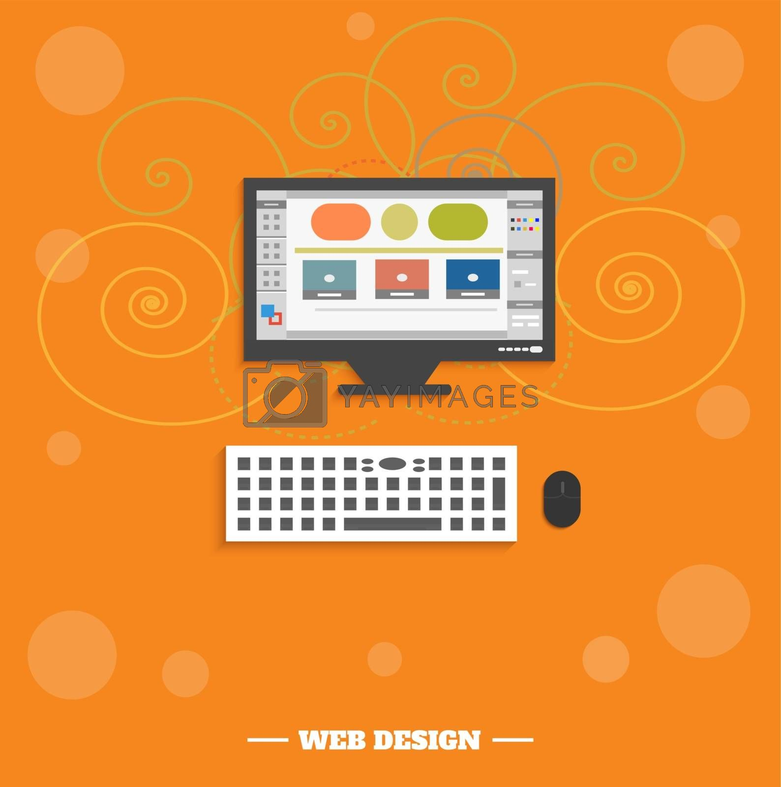 Web design concept by robuart