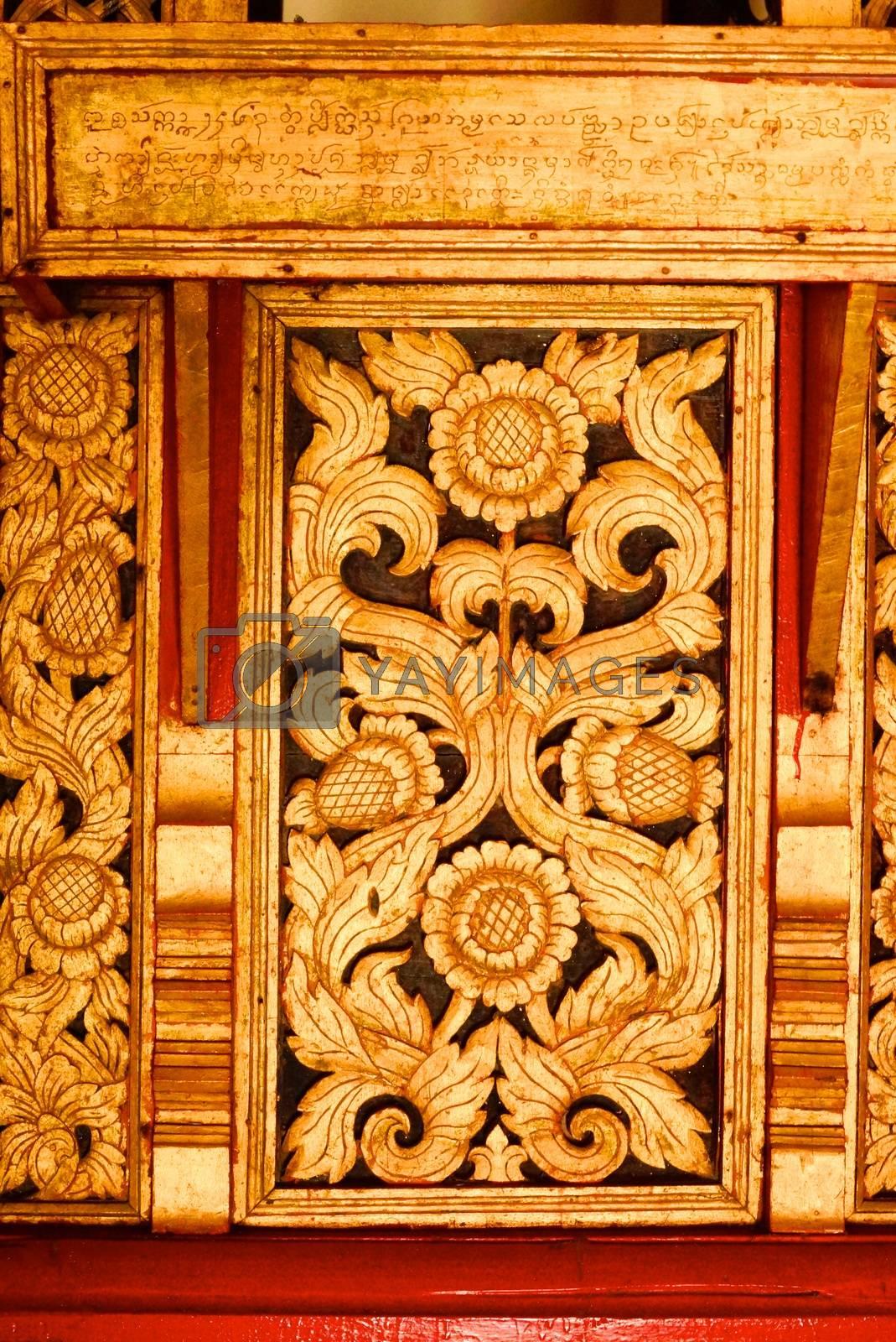 golden pillar by nattapatt