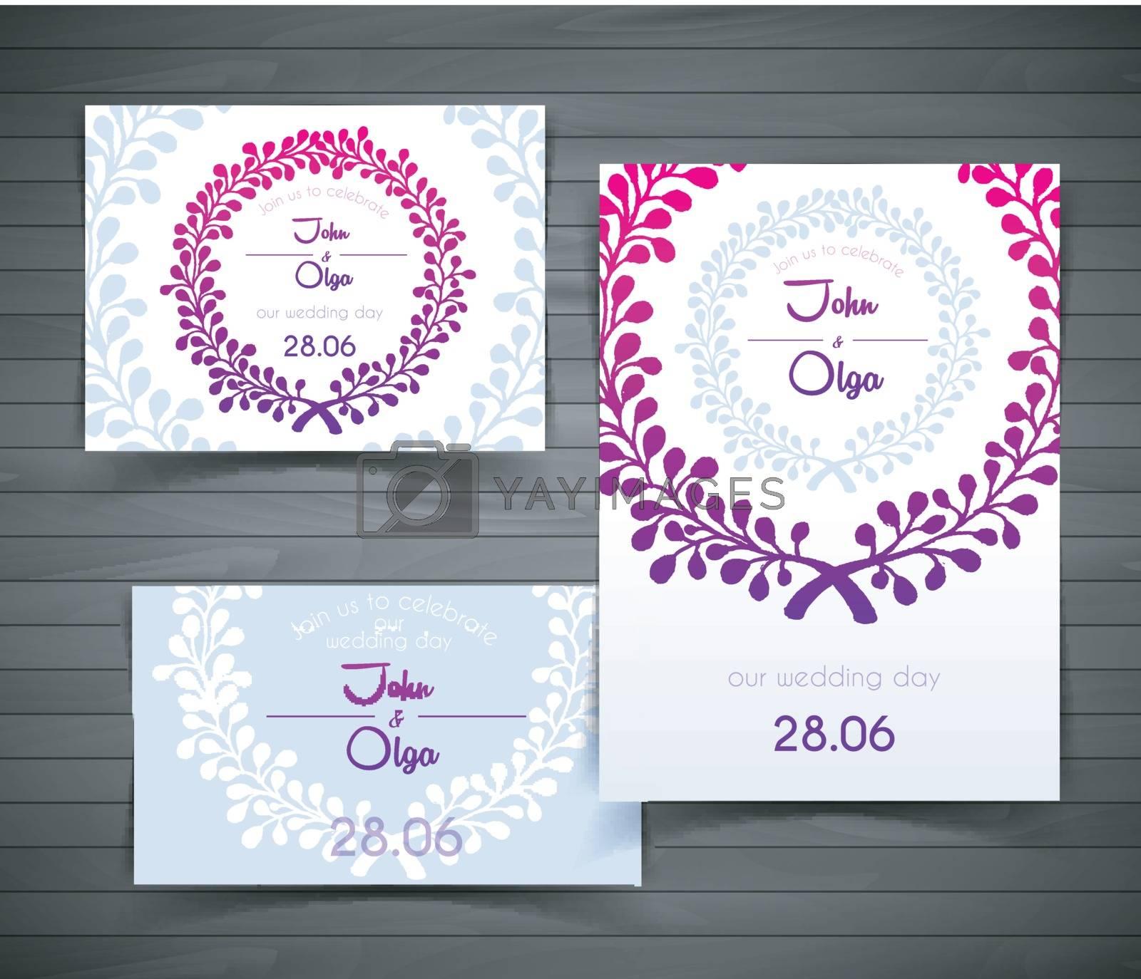 Wedding card by SonneOn
