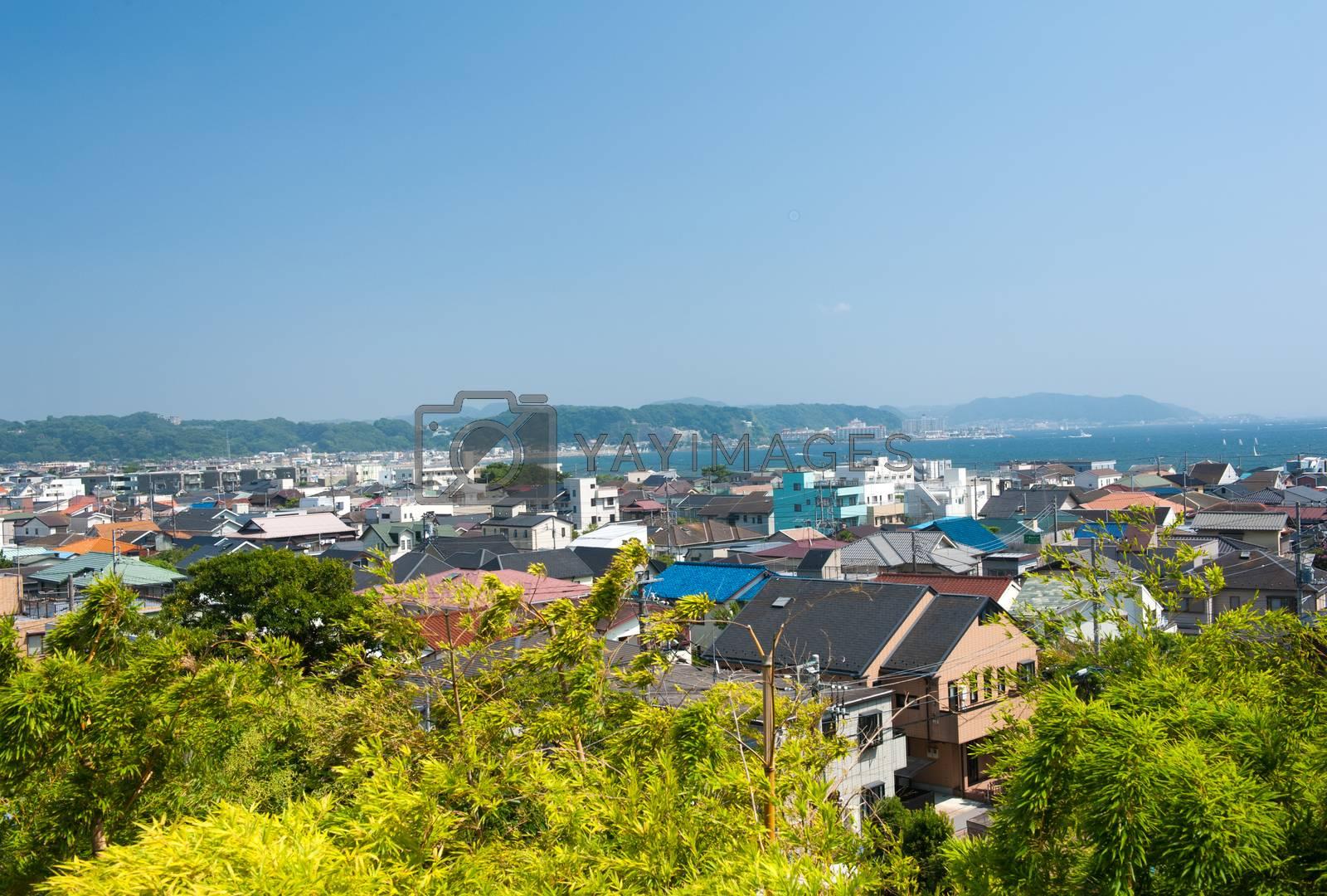 Beach at Kamakura by fyletto