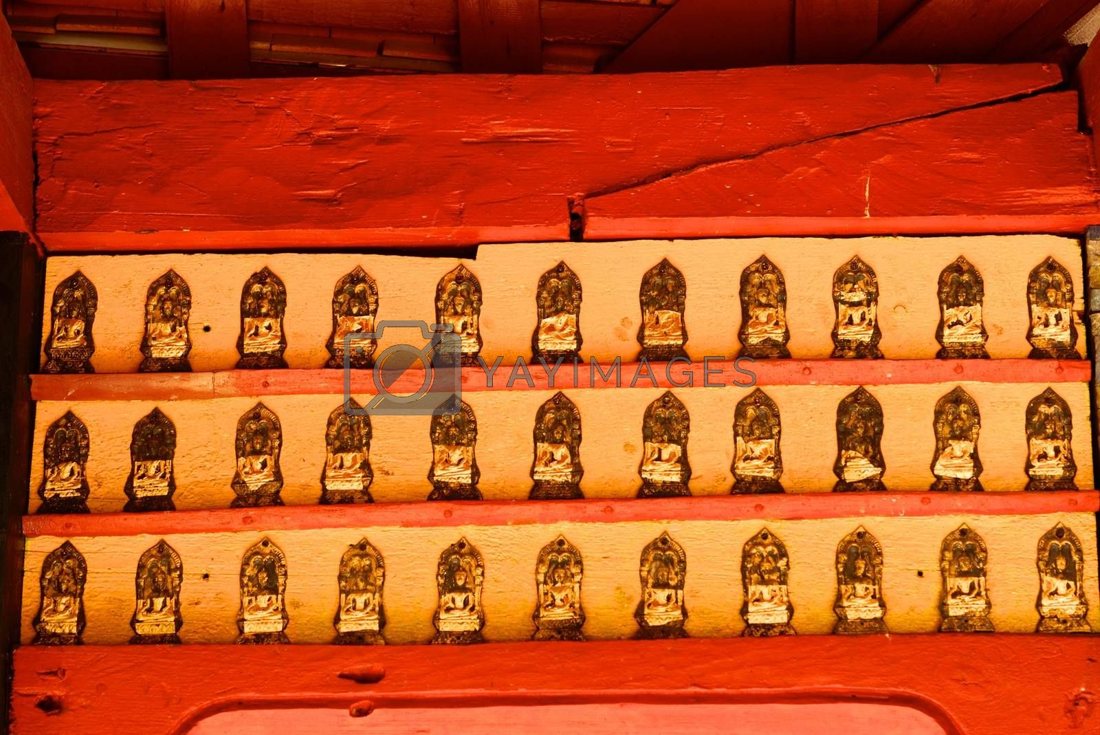 hundred buddha by nattapatt