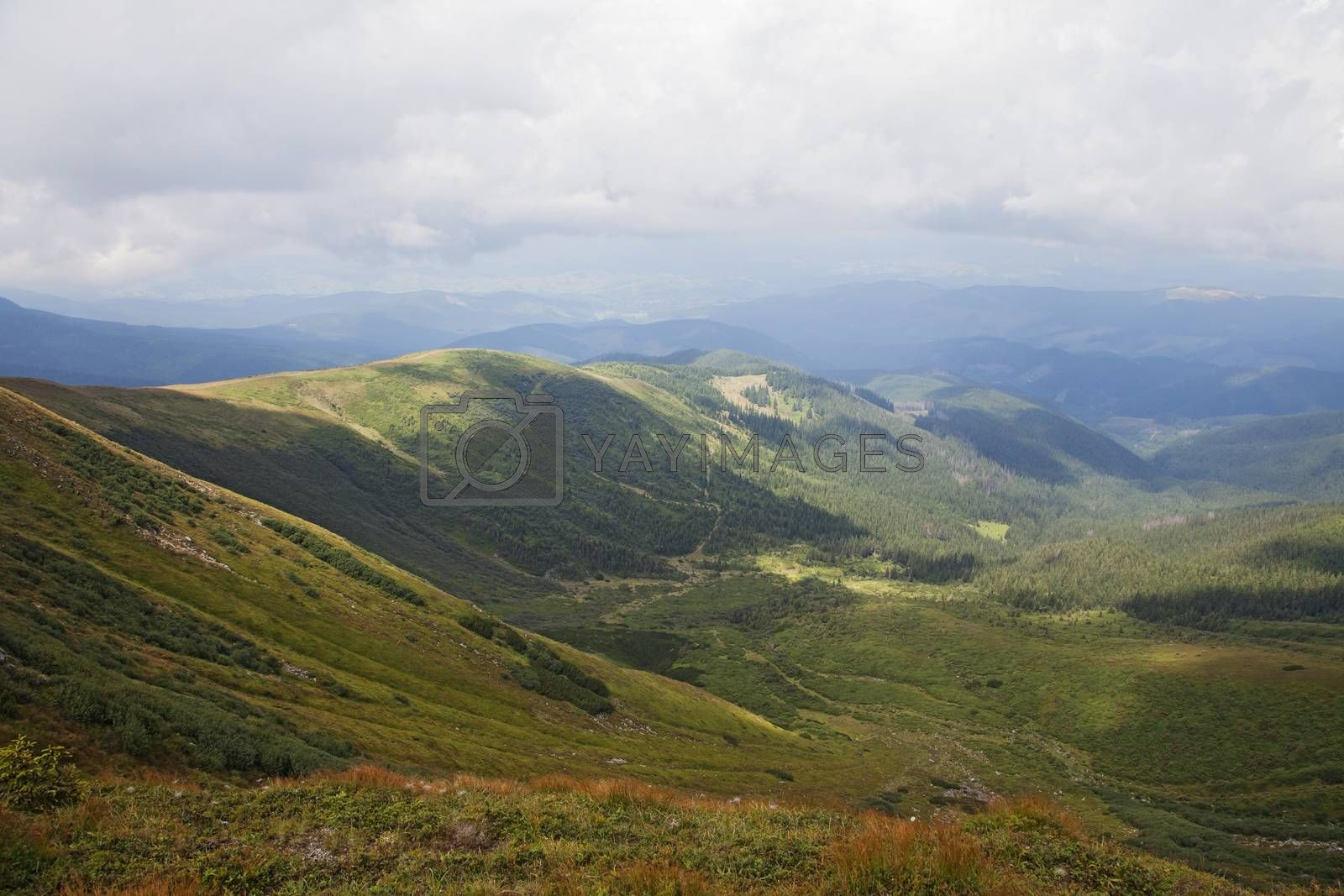 Carpathian mountains by Goodday