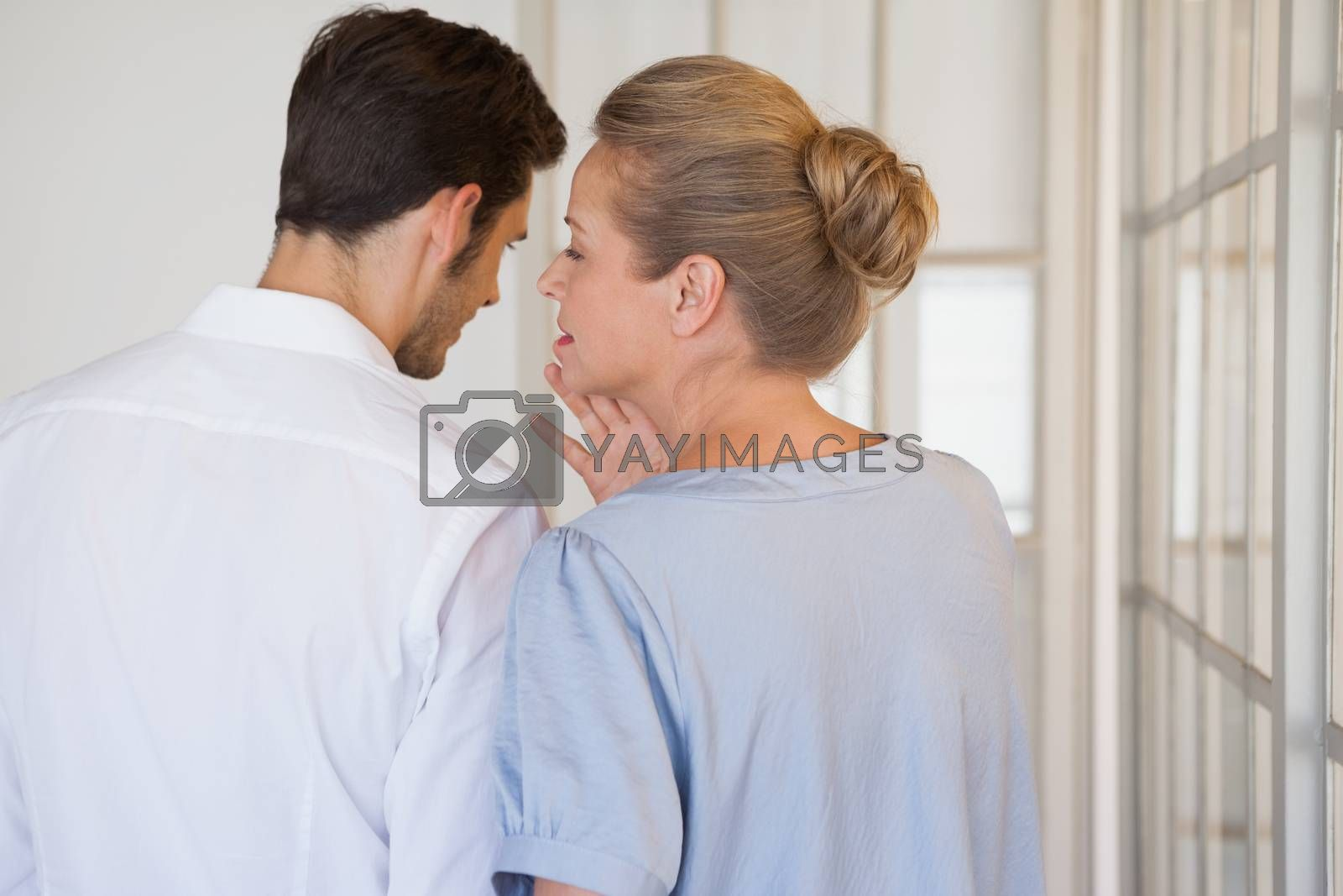 Royalty free image of Casual business people gossiping together by Wavebreakmedia