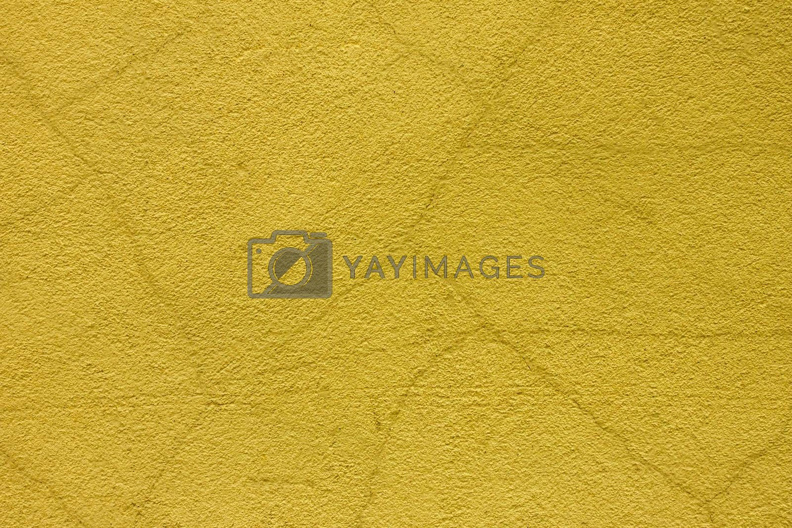 Royalty free image of old yellow grunge background texture  by RTsubin