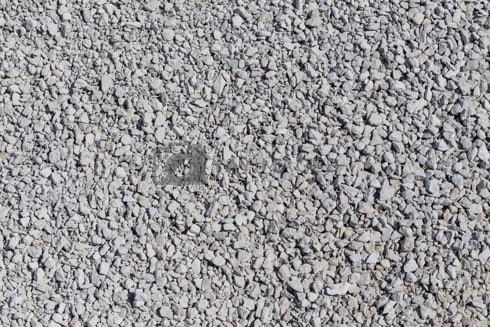 Royalty free image of Crushed gravel texture by RTsubin