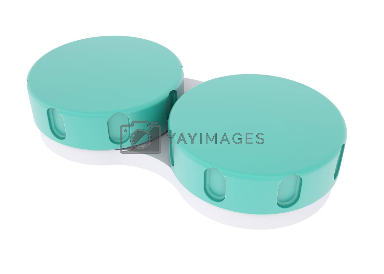 Royalty free image of Container for lens by cherezoff