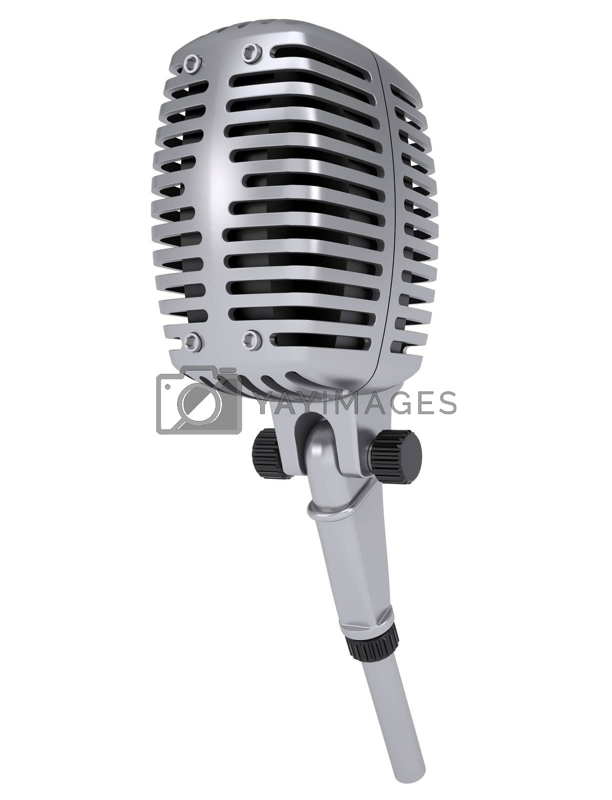 Royalty free image of Studio microphone by cherezoff