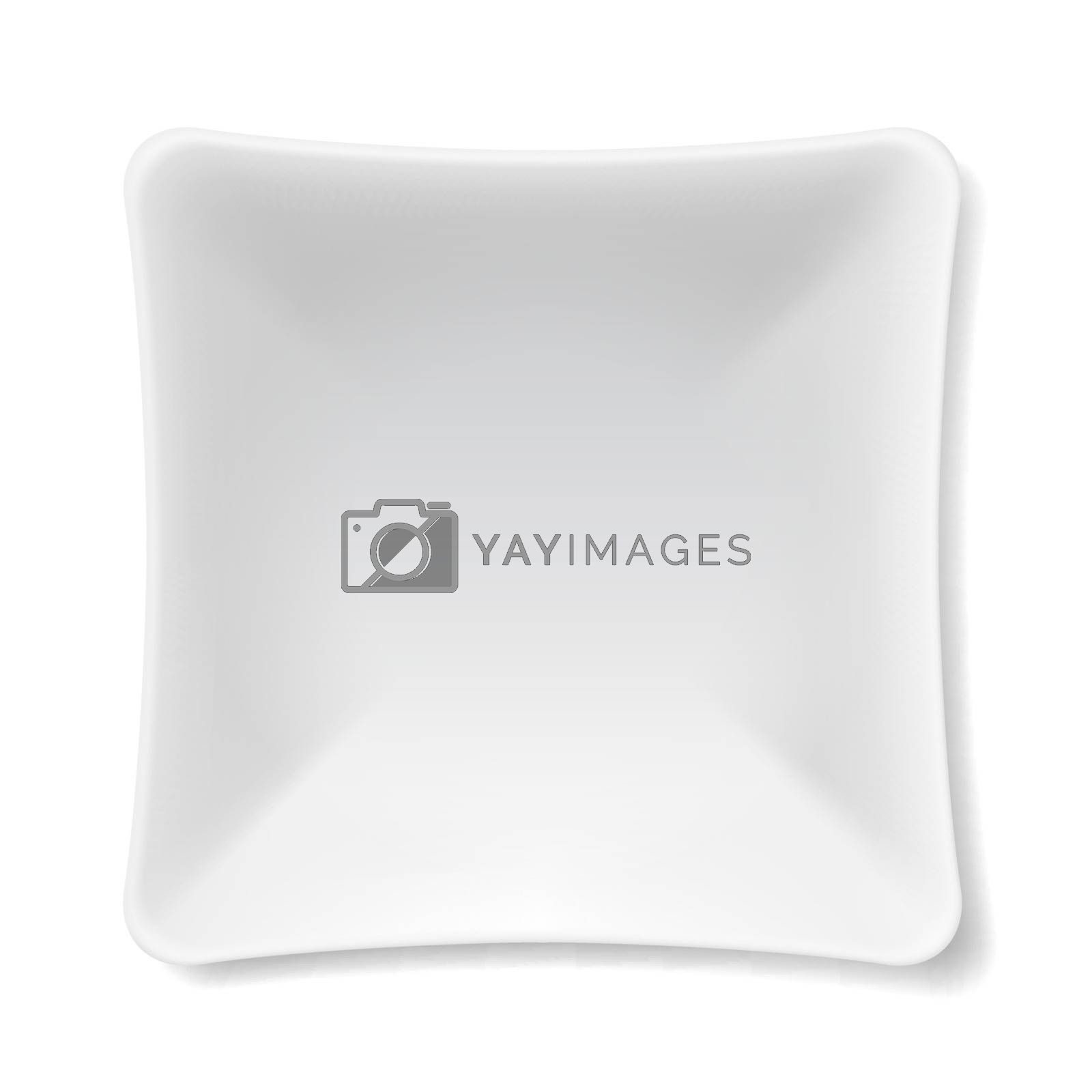 Royalty free image of White plate by dvarg