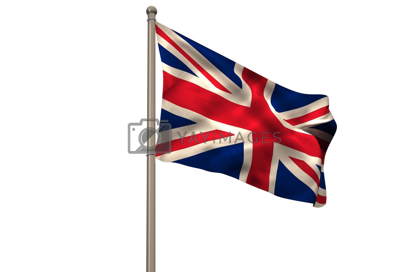 Royalty free image of Digitally generated uk national flag by Wavebreakmedia