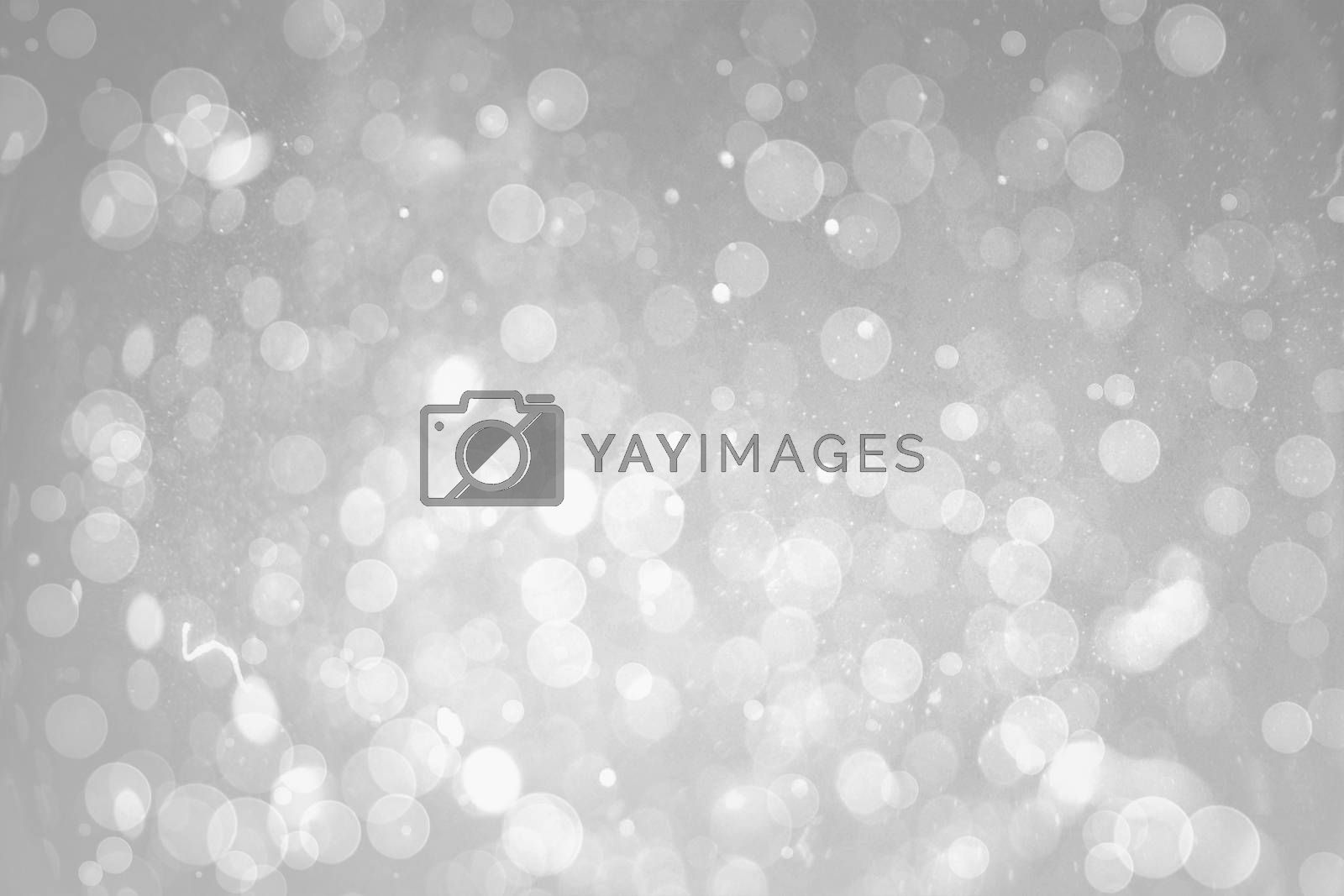 Royalty free image of Grey abstract light spot design by Wavebreakmedia
