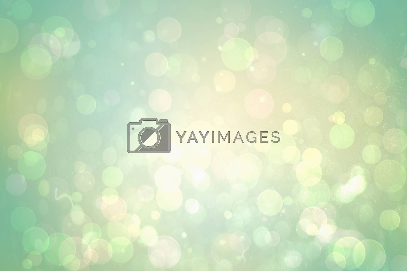 Royalty free image of Green abstract light spot design by Wavebreakmedia
