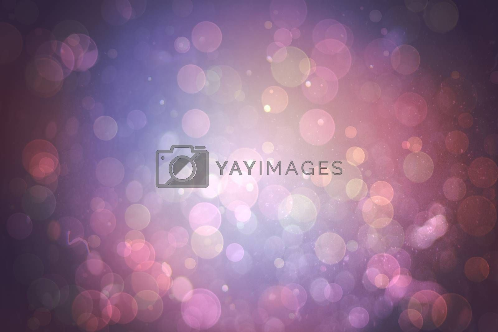 Royalty free image of Purple abstract light spot design by Wavebreakmedia