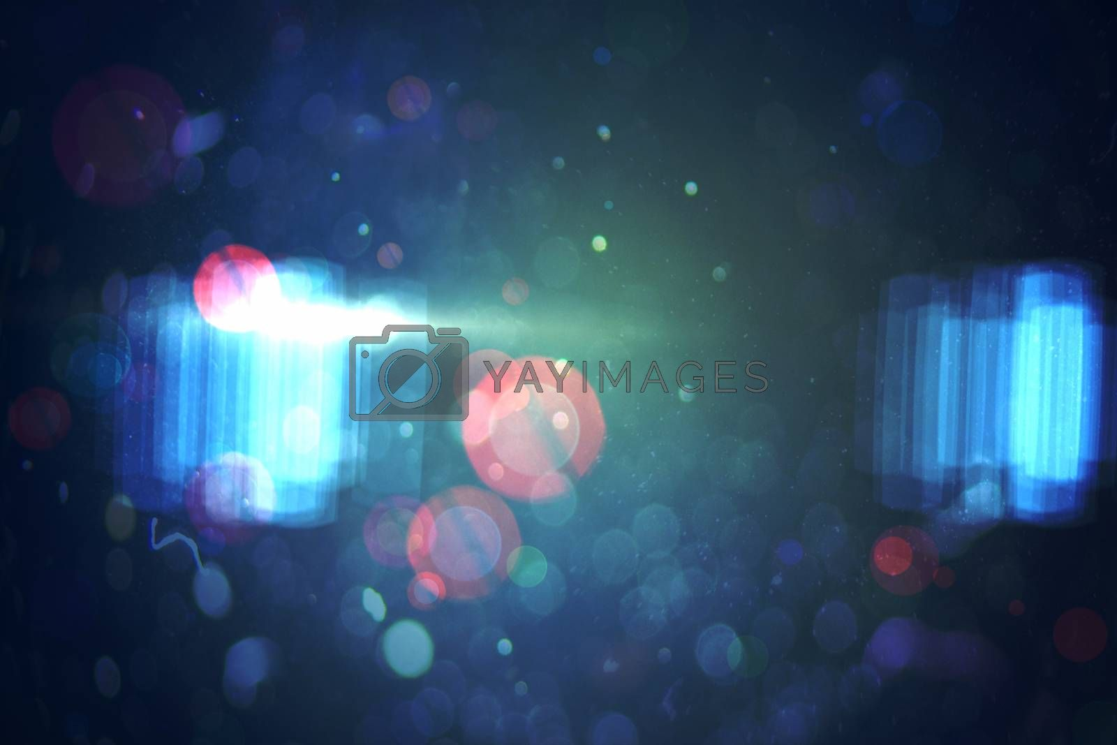 Royalty free image of Abstract lights on dark background by Wavebreakmedia