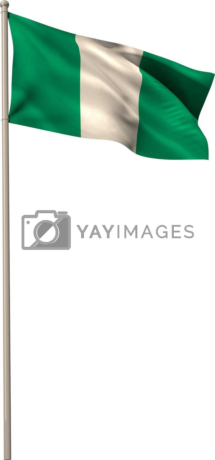 Royalty free image of Digitally generated nigeria national flag by Wavebreakmedia