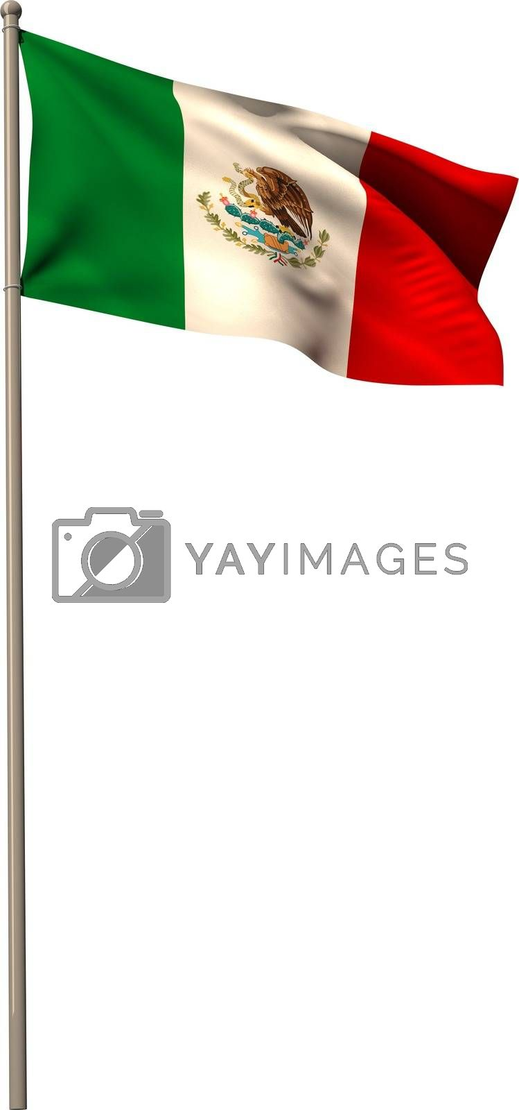 Royalty free image of Digitally generated mexico national flag by Wavebreakmedia