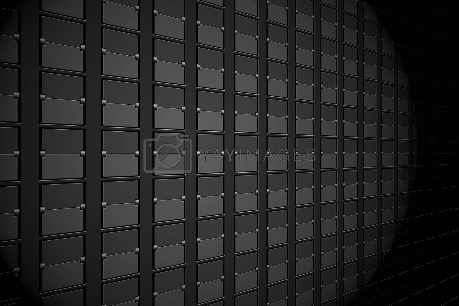 Royalty free image of Black arrival and departures board by Wavebreakmedia