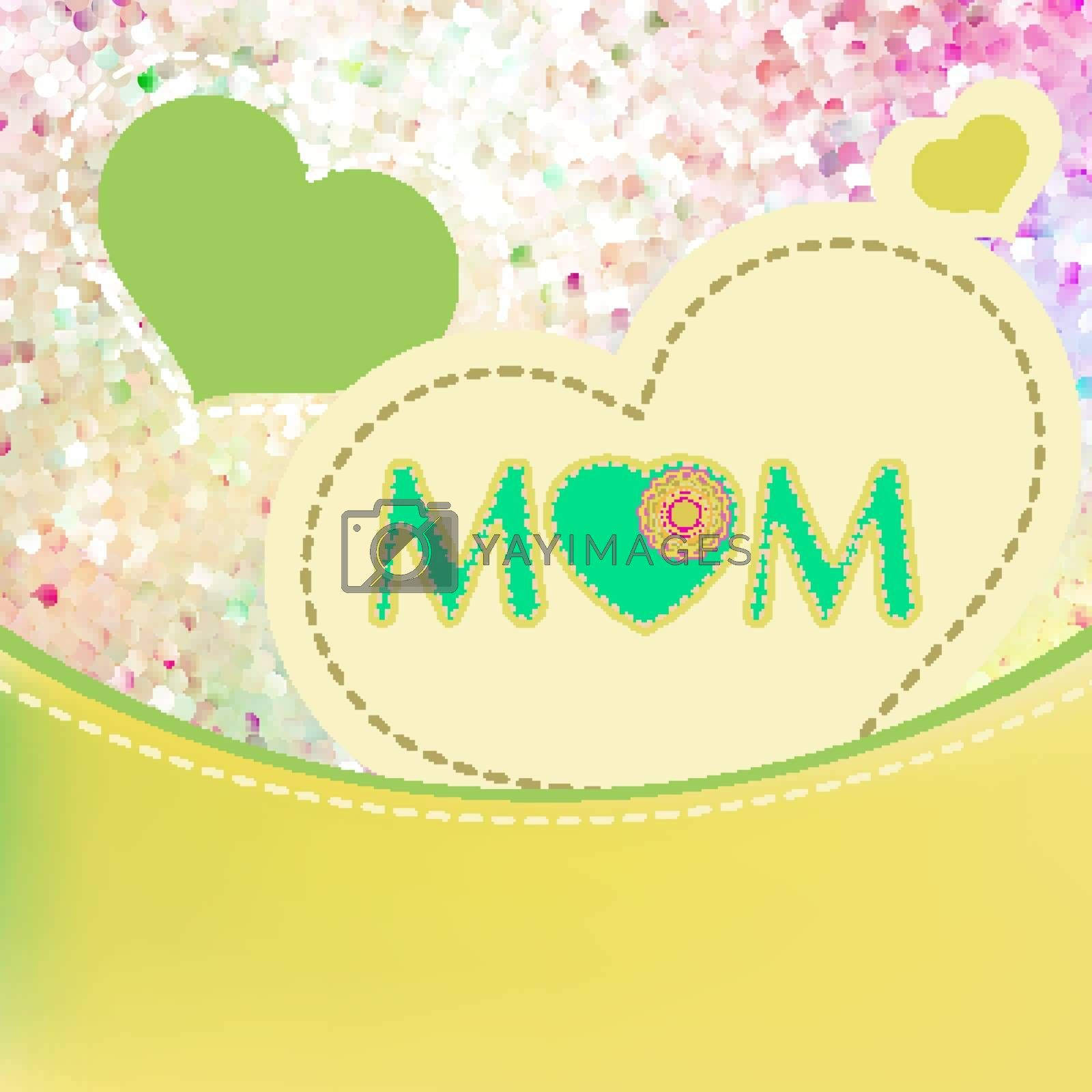Happy Mother's Day. EPS 10 vector file included