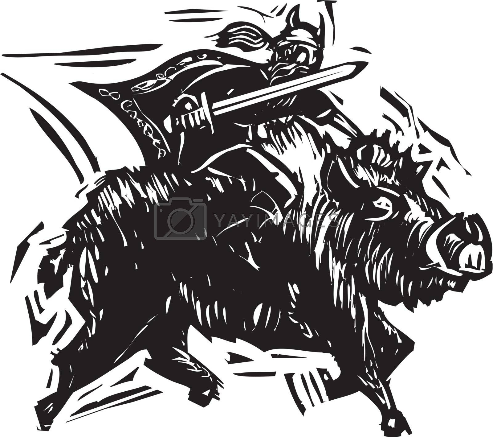 Norse God Frey by Xochicalco