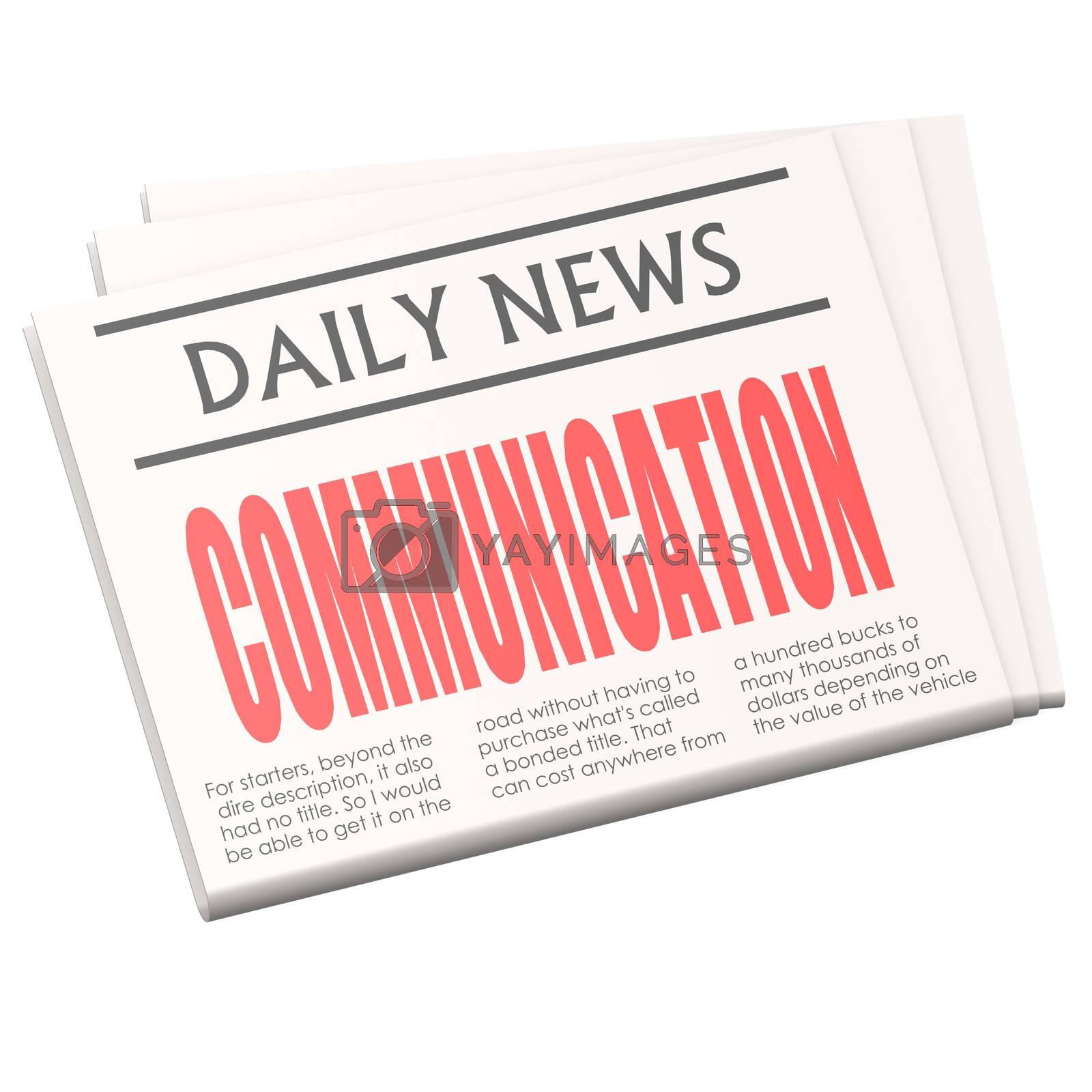 Newspaper communication